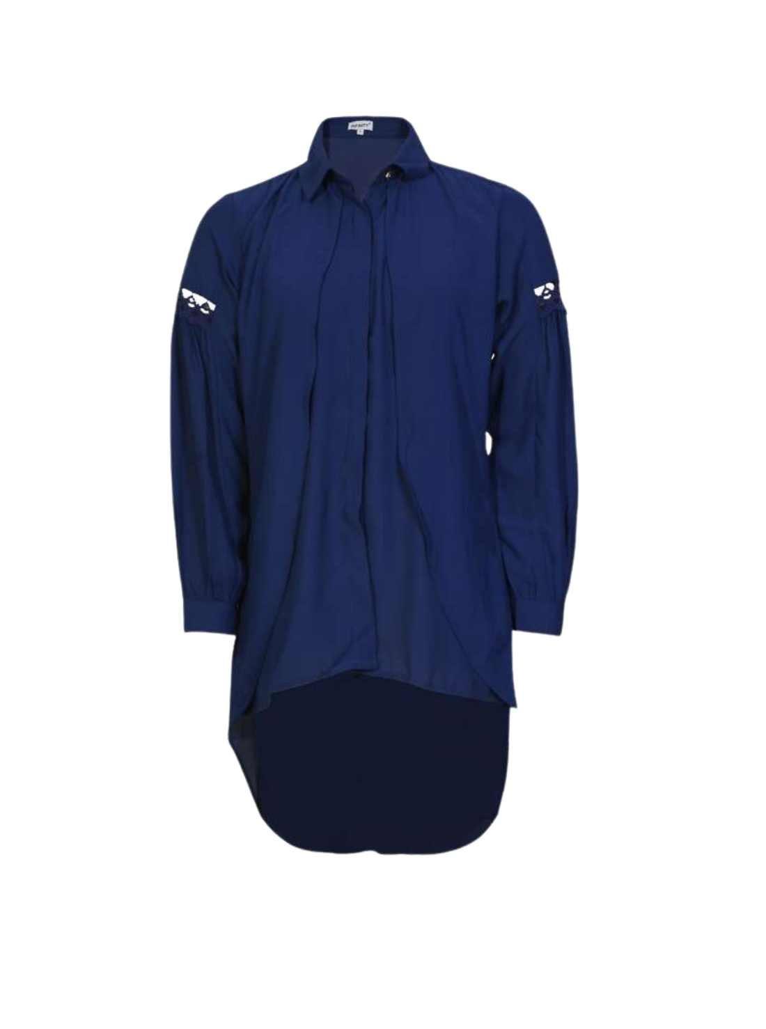 Blue western tops manufacturer