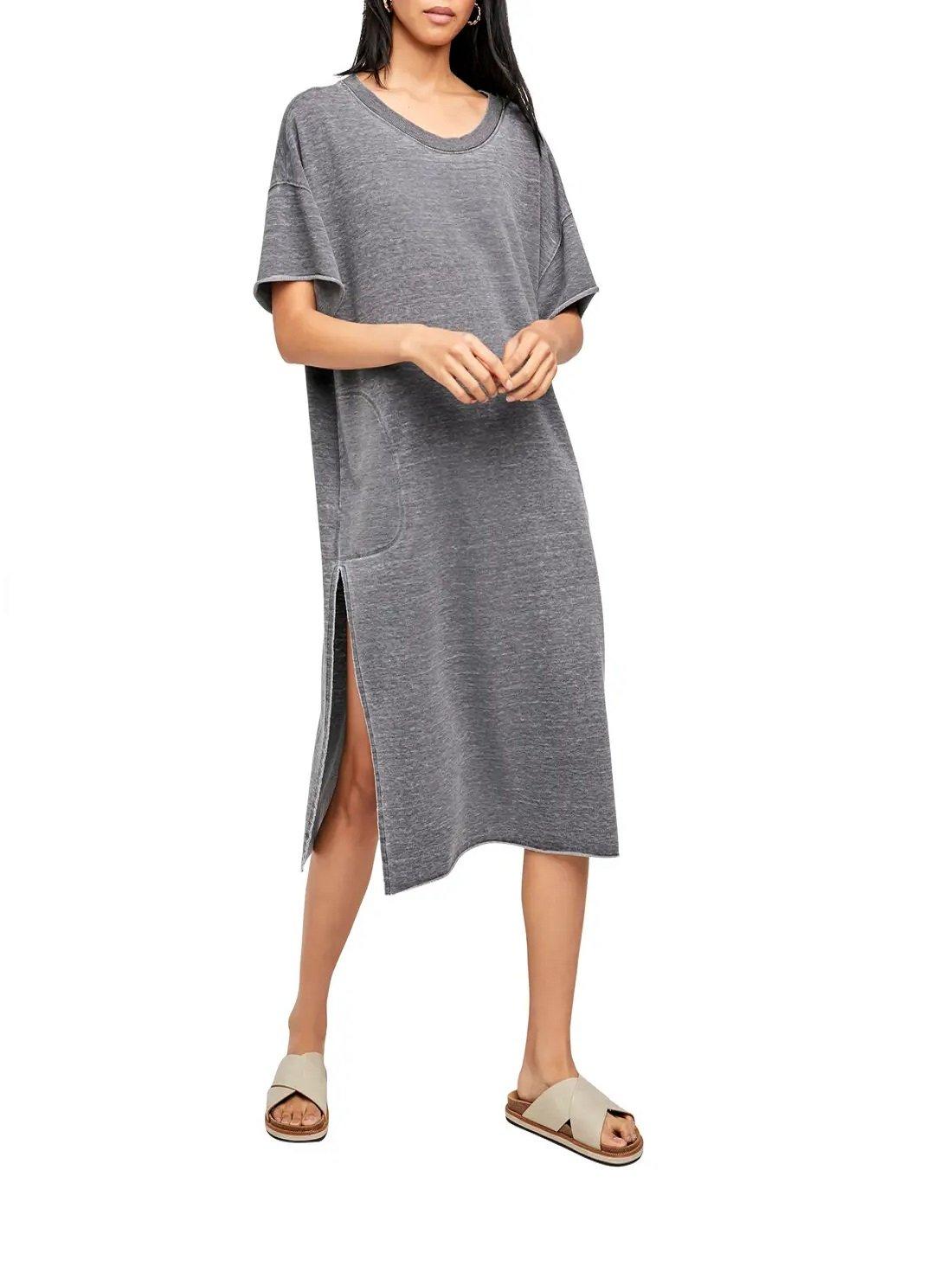Cozy Girl T-Shirt Dress