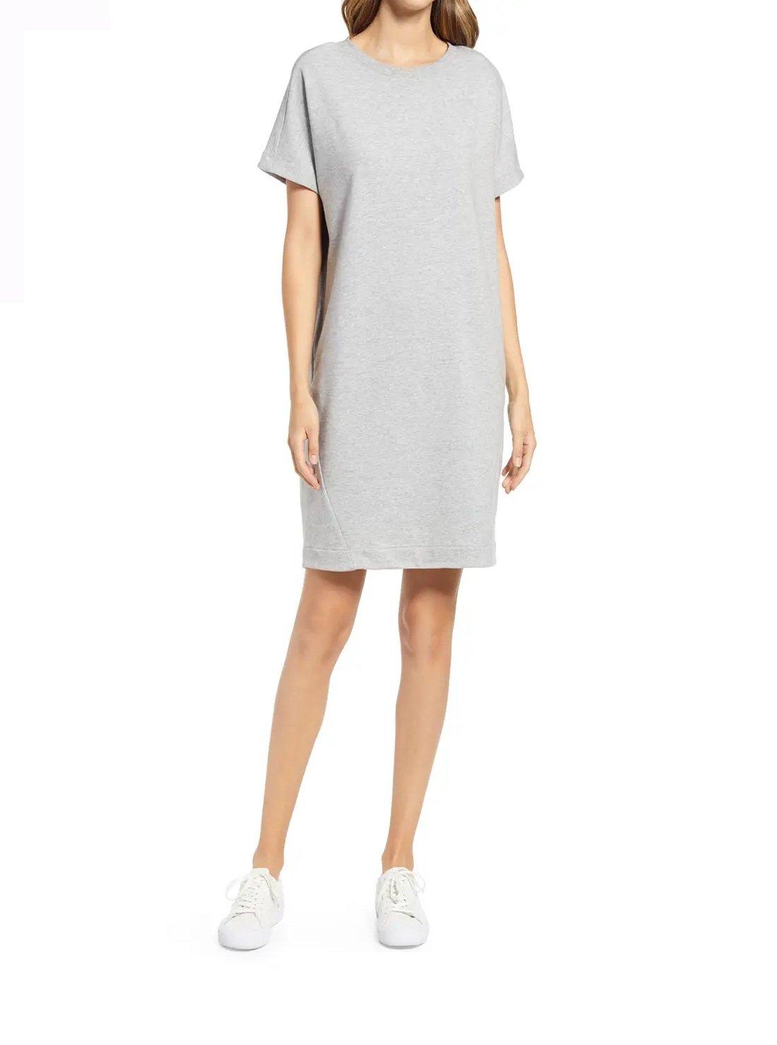Crewneck T-Shirt Dress