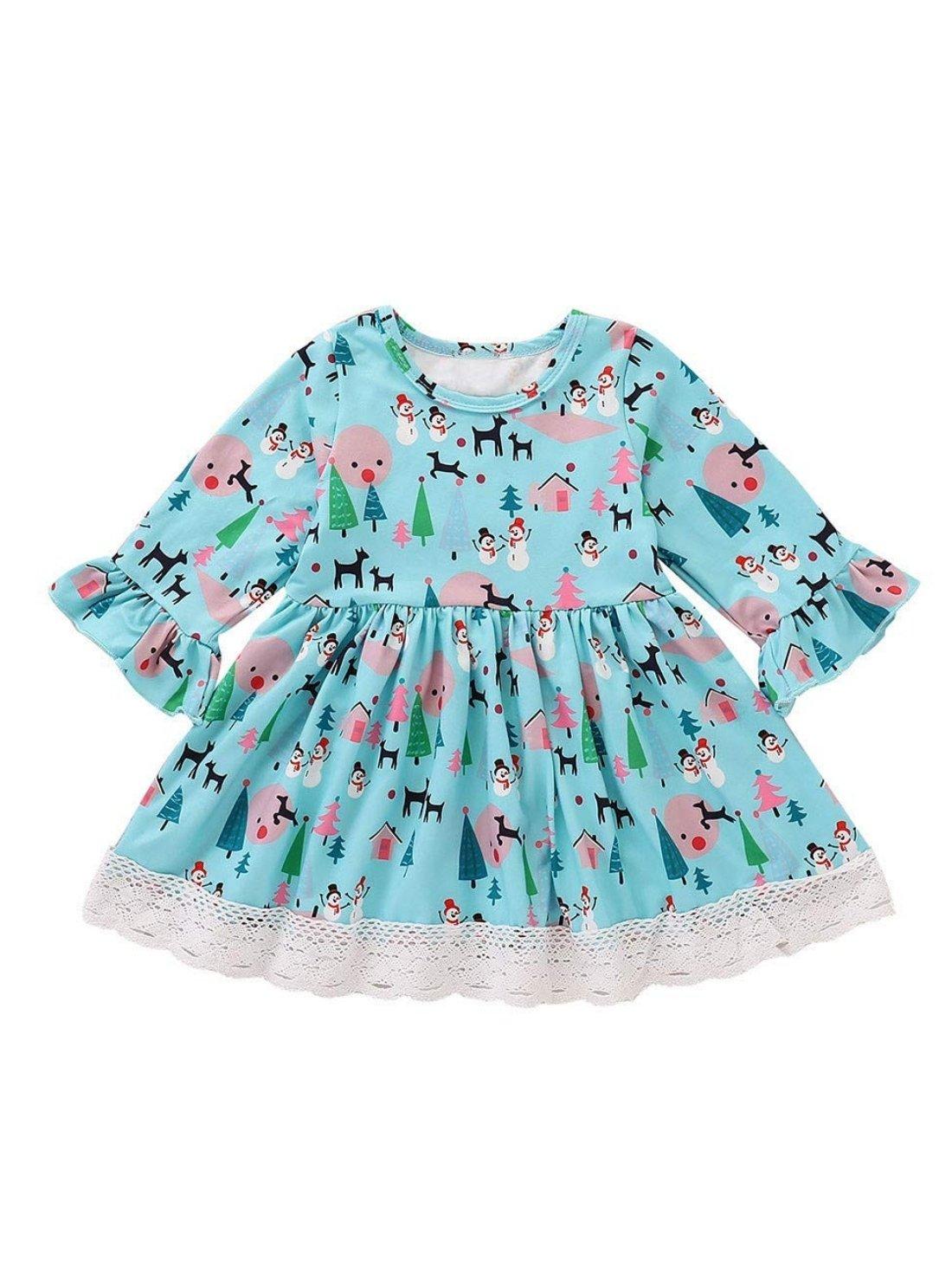 Fancy Cartoon Dress for Kids