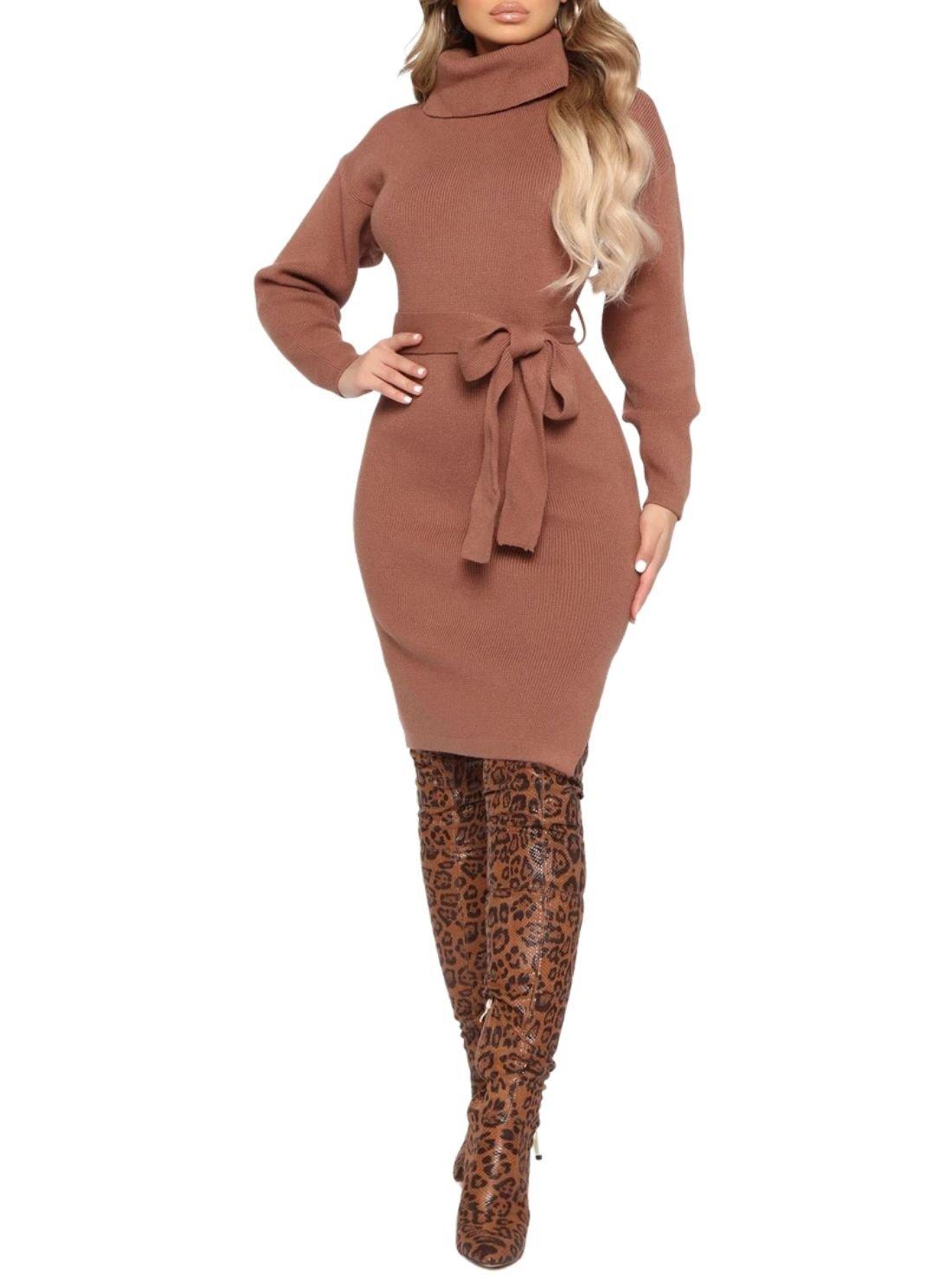 Fashion Wholesale Sweater Dress