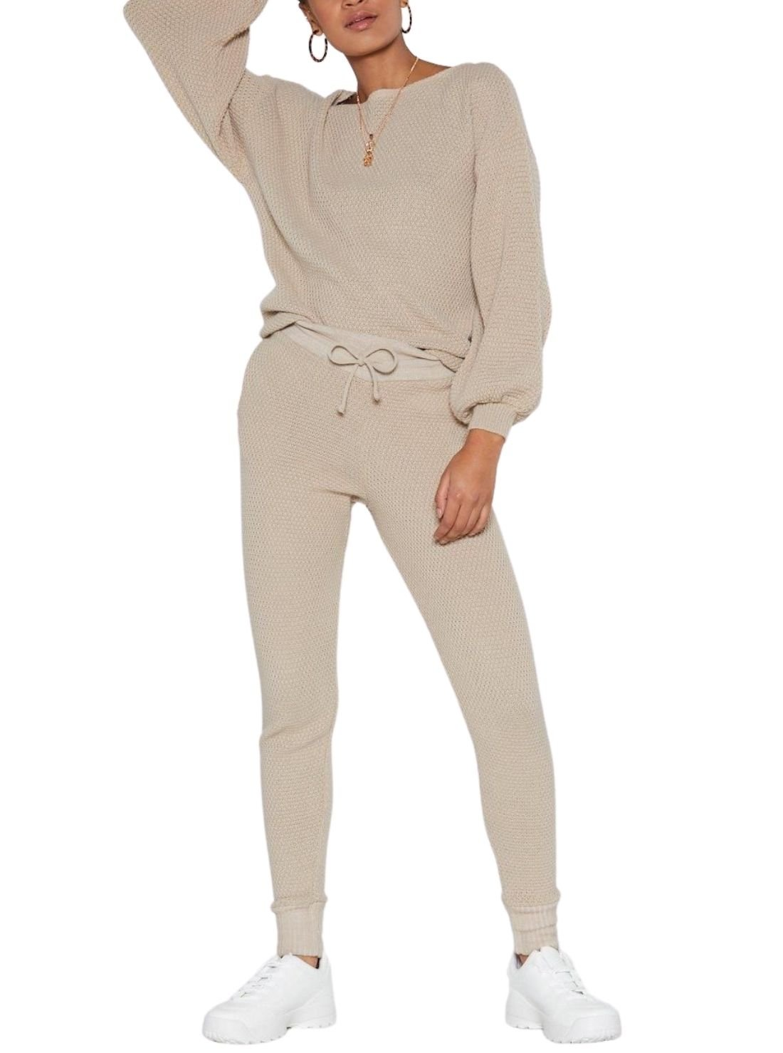Fitted Spandex Joggers Sets