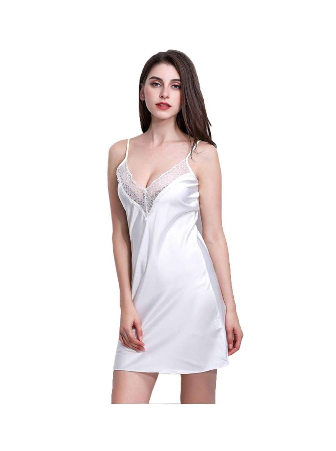 Floral Knee Length Night Dress