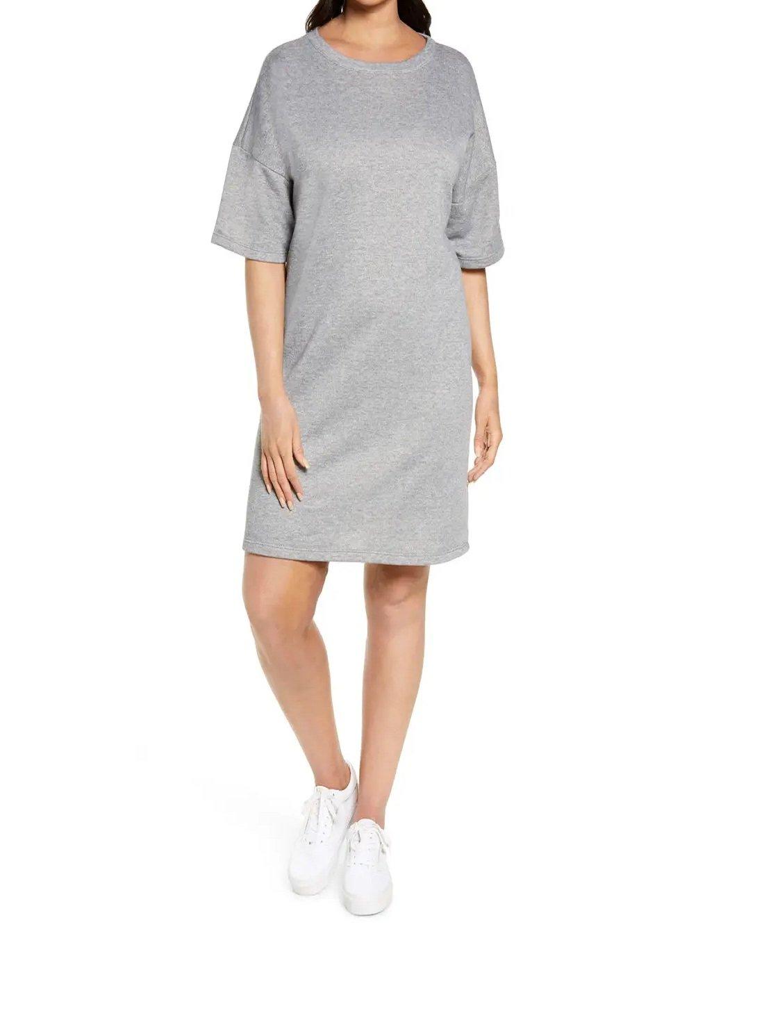 French T-Shirt Dress
