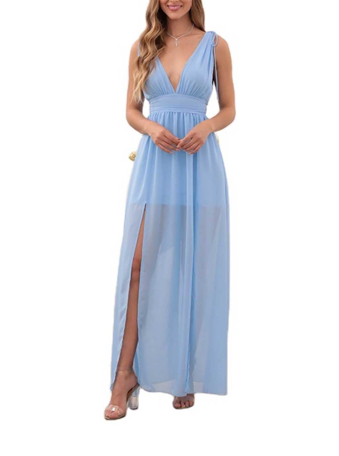 High Rise Maxi Dress