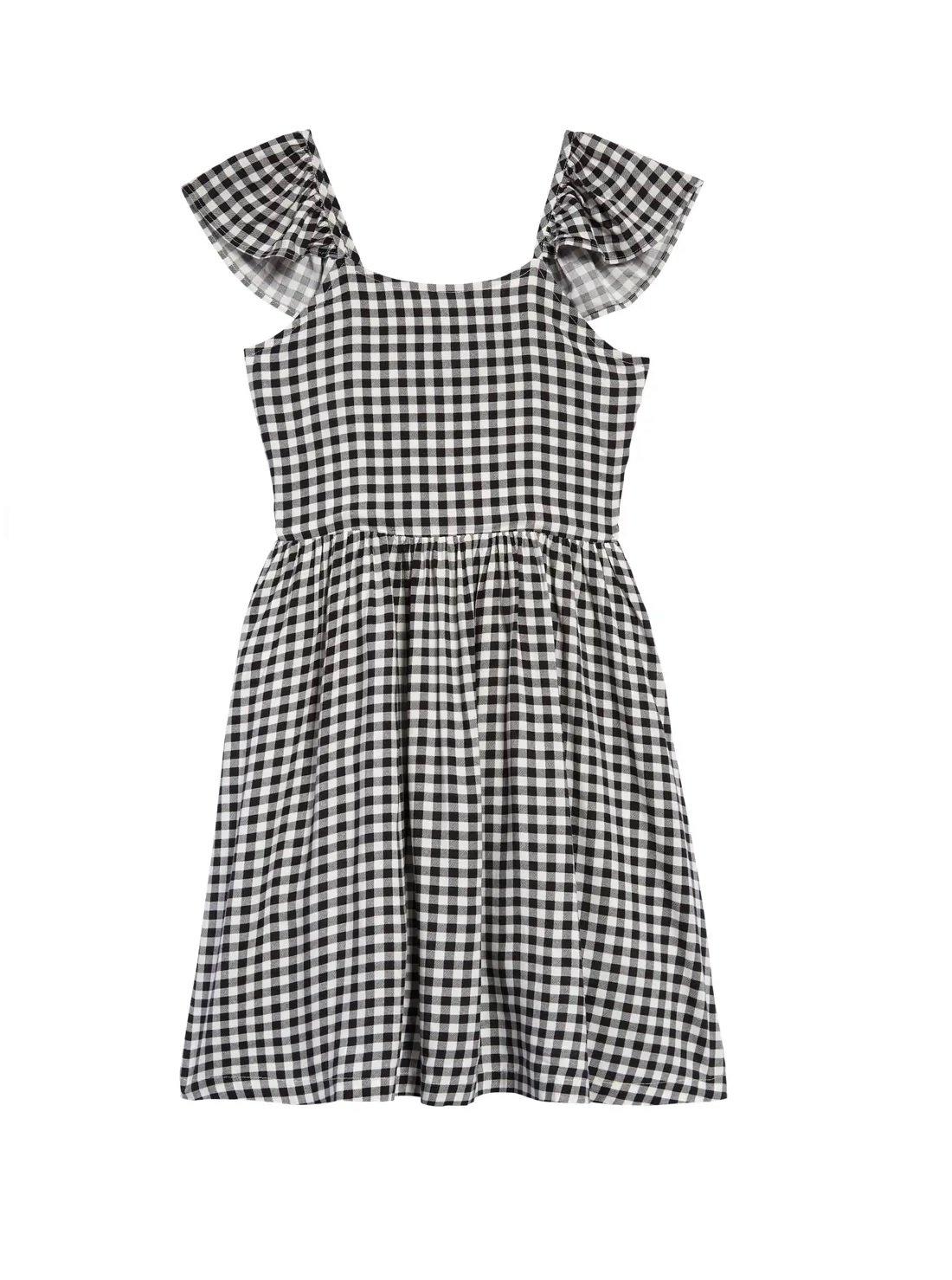 Kids' Flutter Sleeve Dress