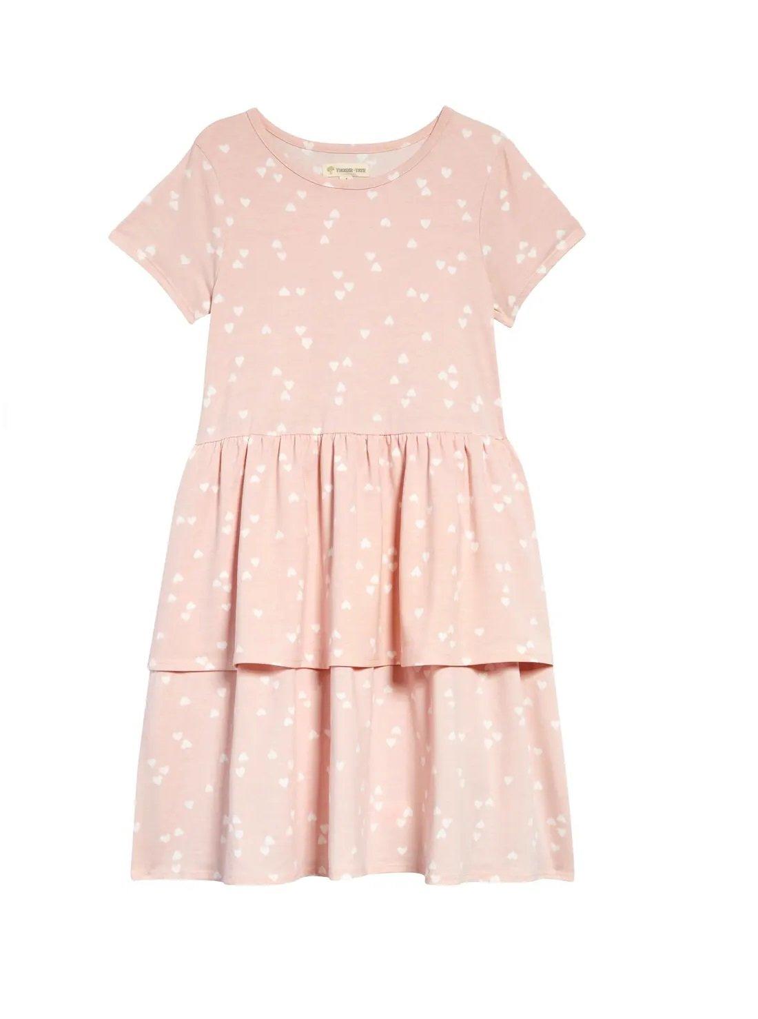 Kids' Polka Dot Tier Dress