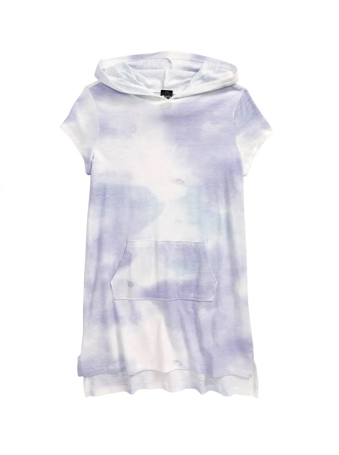 Kids' Tie Dye Hooded Cover-Up Dress