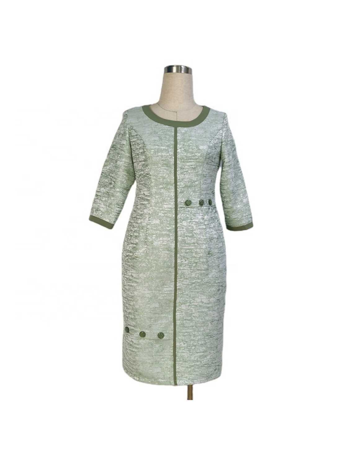 Knee Length Plus Size Holiday Dress