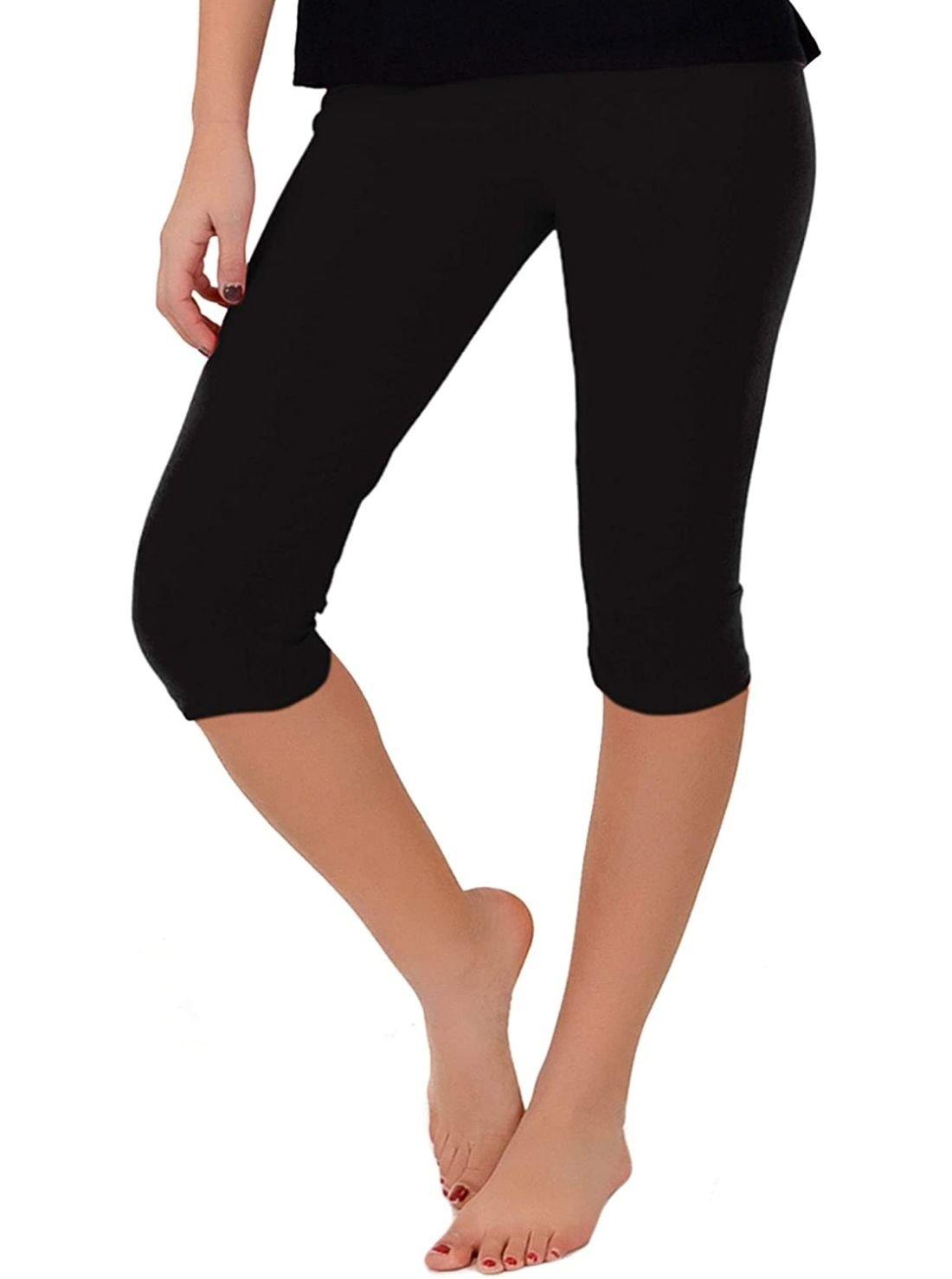 Knee-Length Printed Leggings