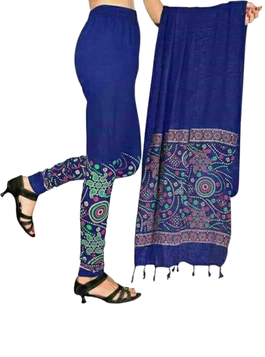 Lady Touch Leggings with Matching Dupata