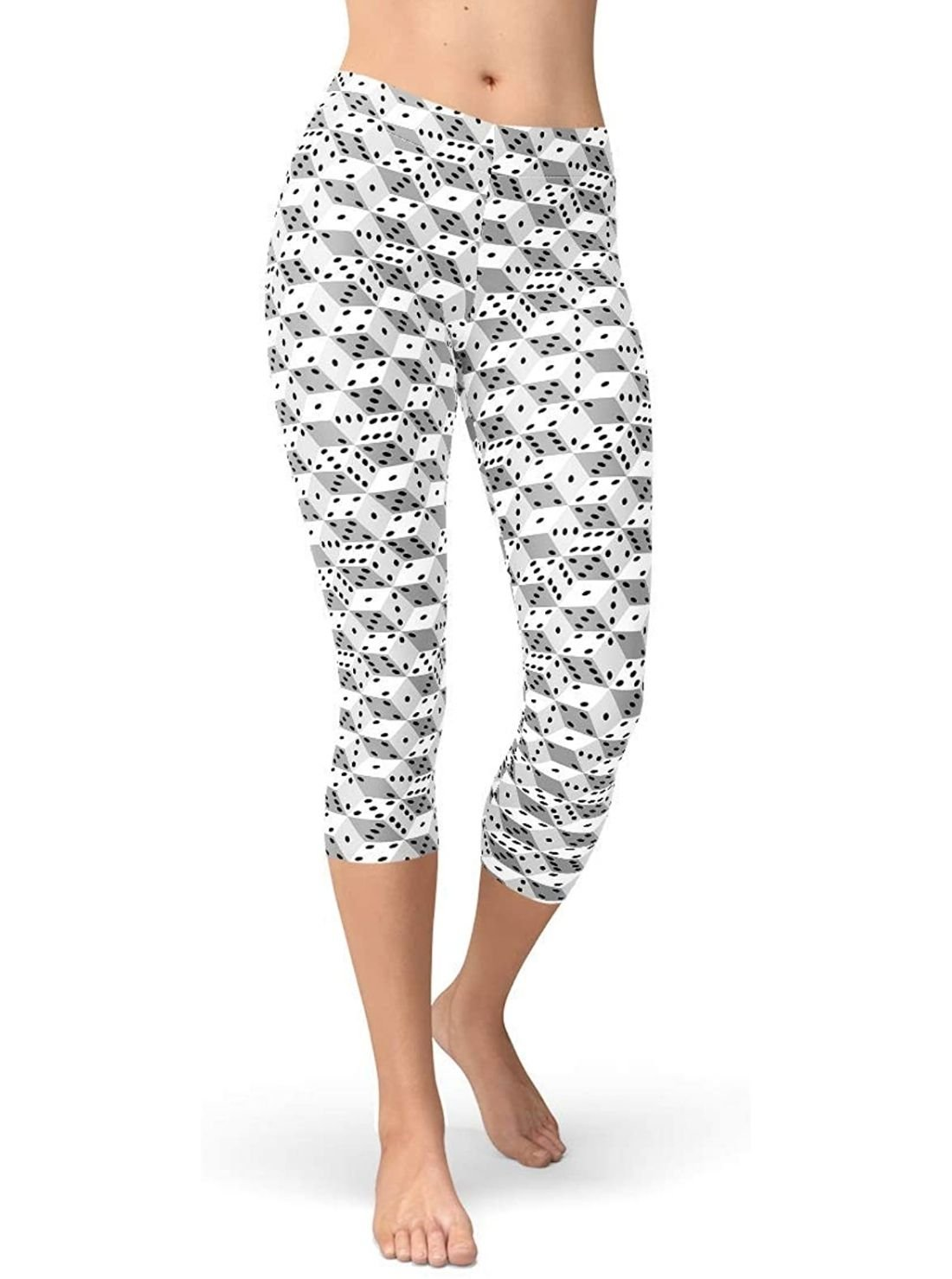Mid-Calf Pattern Leggings