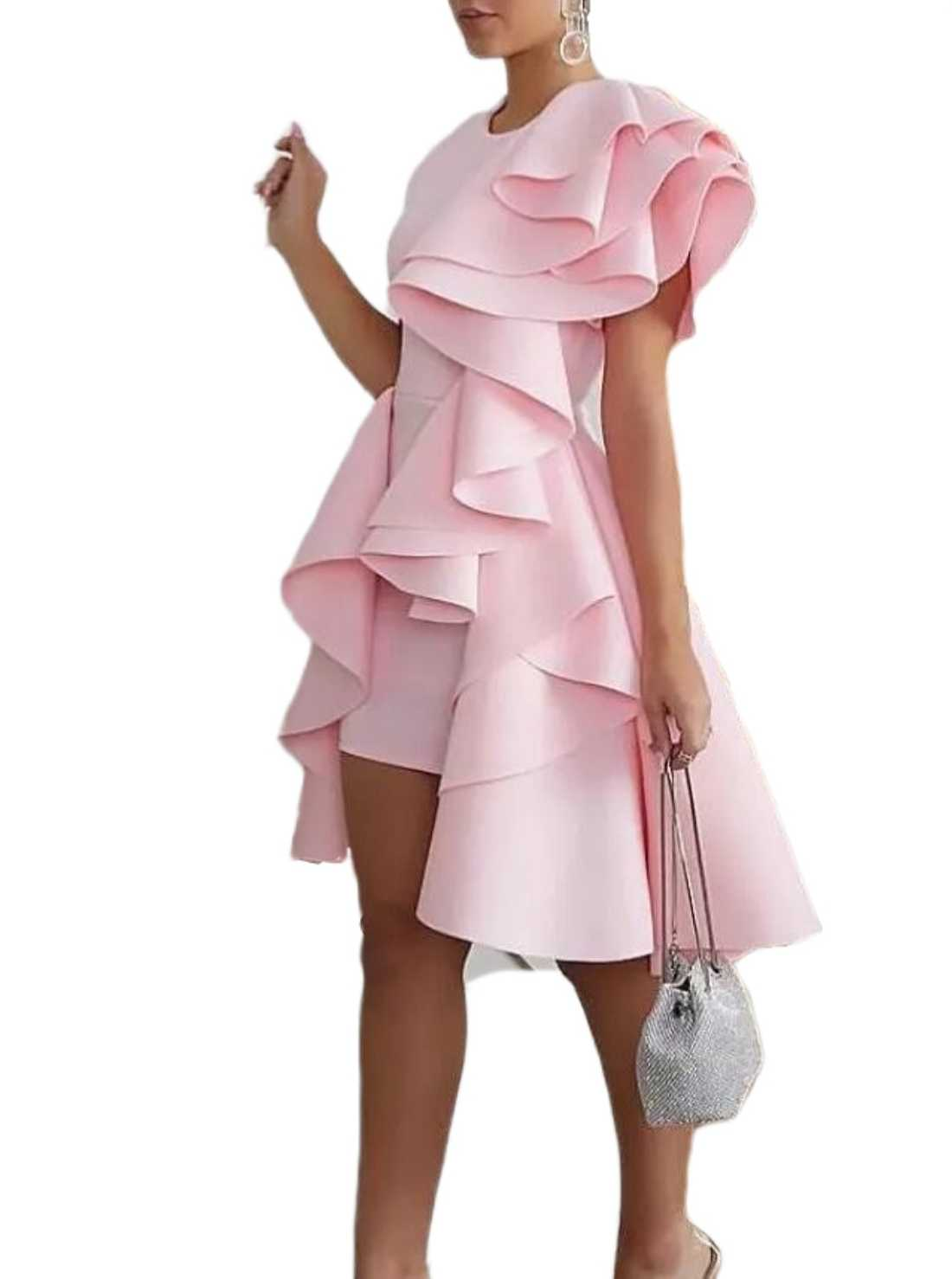 Pink Wholesale Cocktail Party Dress