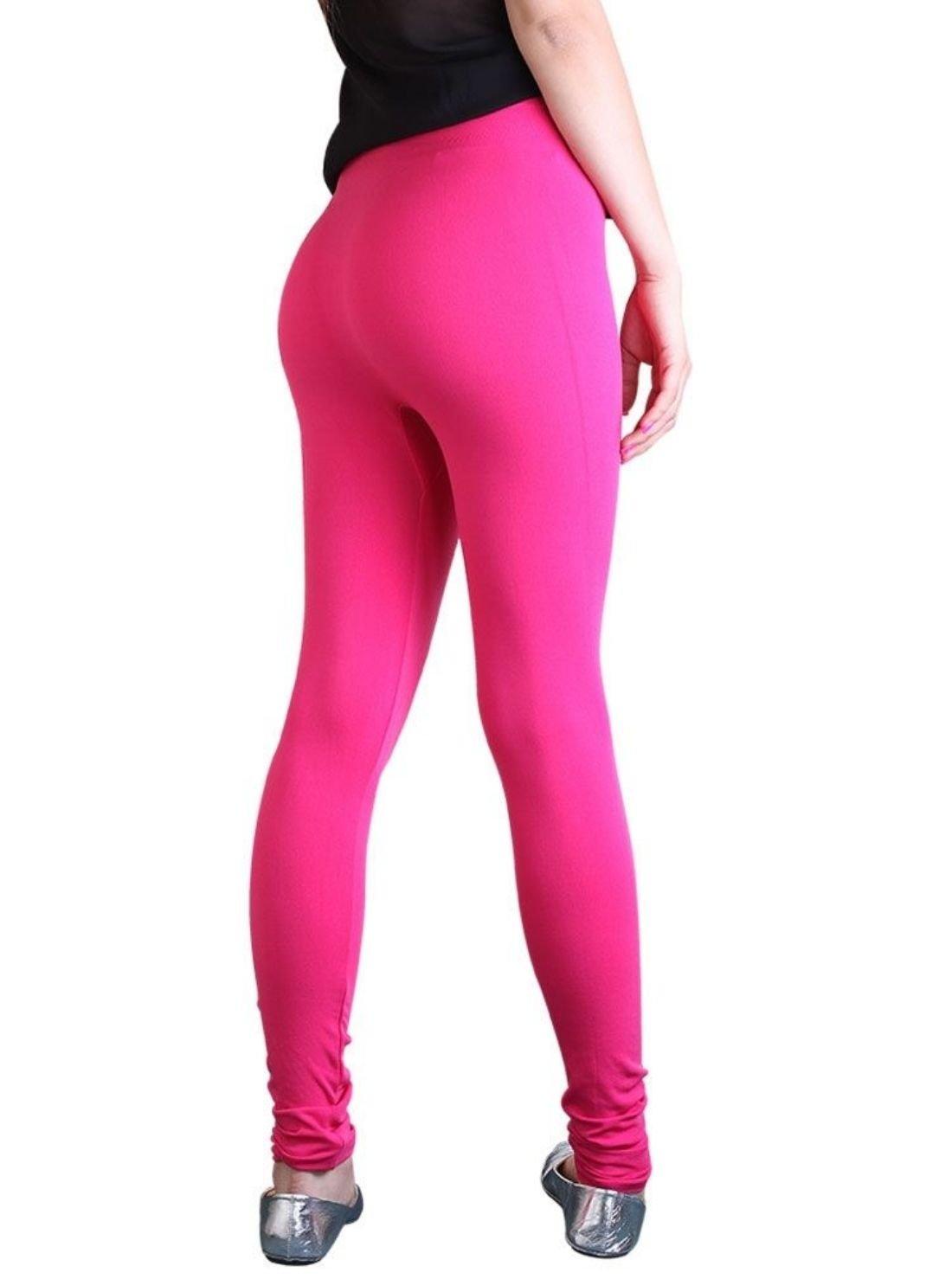 Plain Color Lady Touch Leggings
