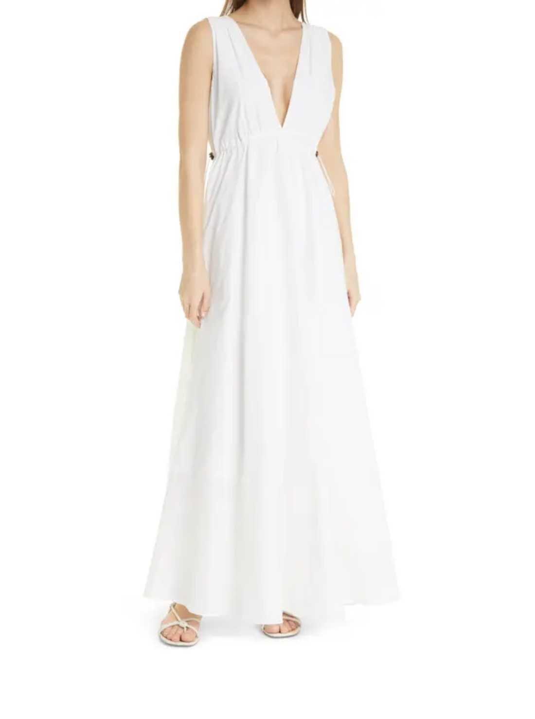 Plunge Maxi Dress