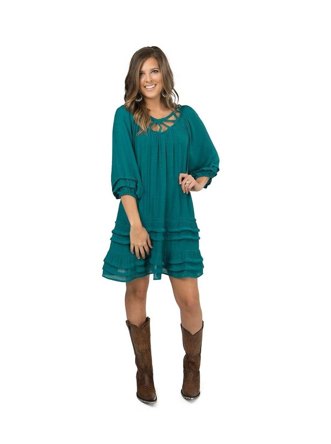 Plus Size Western Dresses