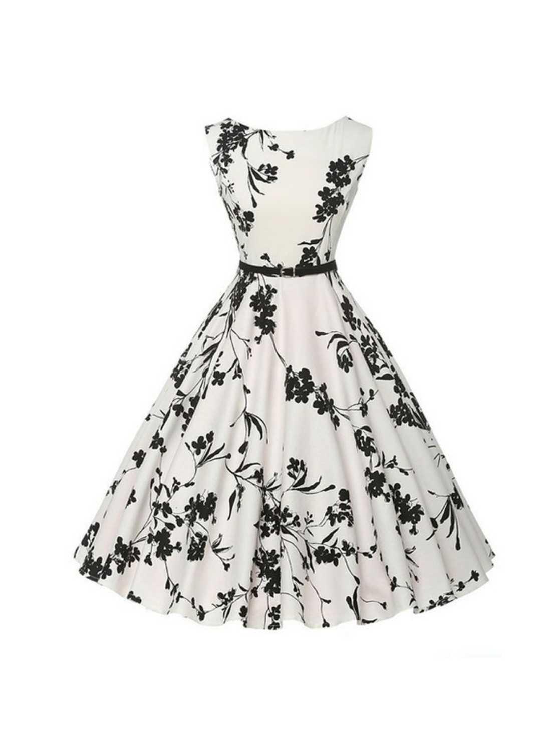 Printed One-Piece Dresses
