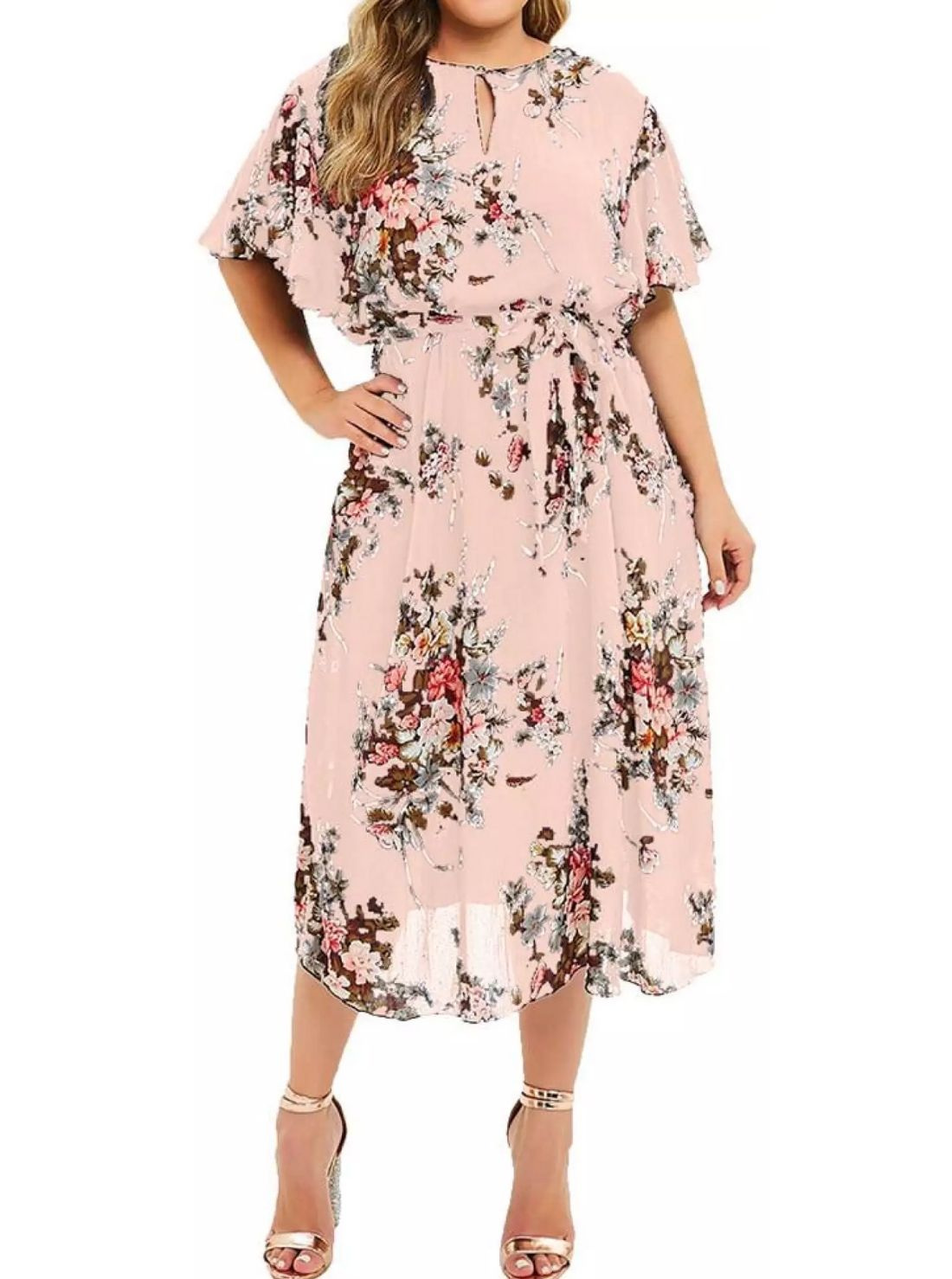 Short Sleeved Wholesale Casual Dresses