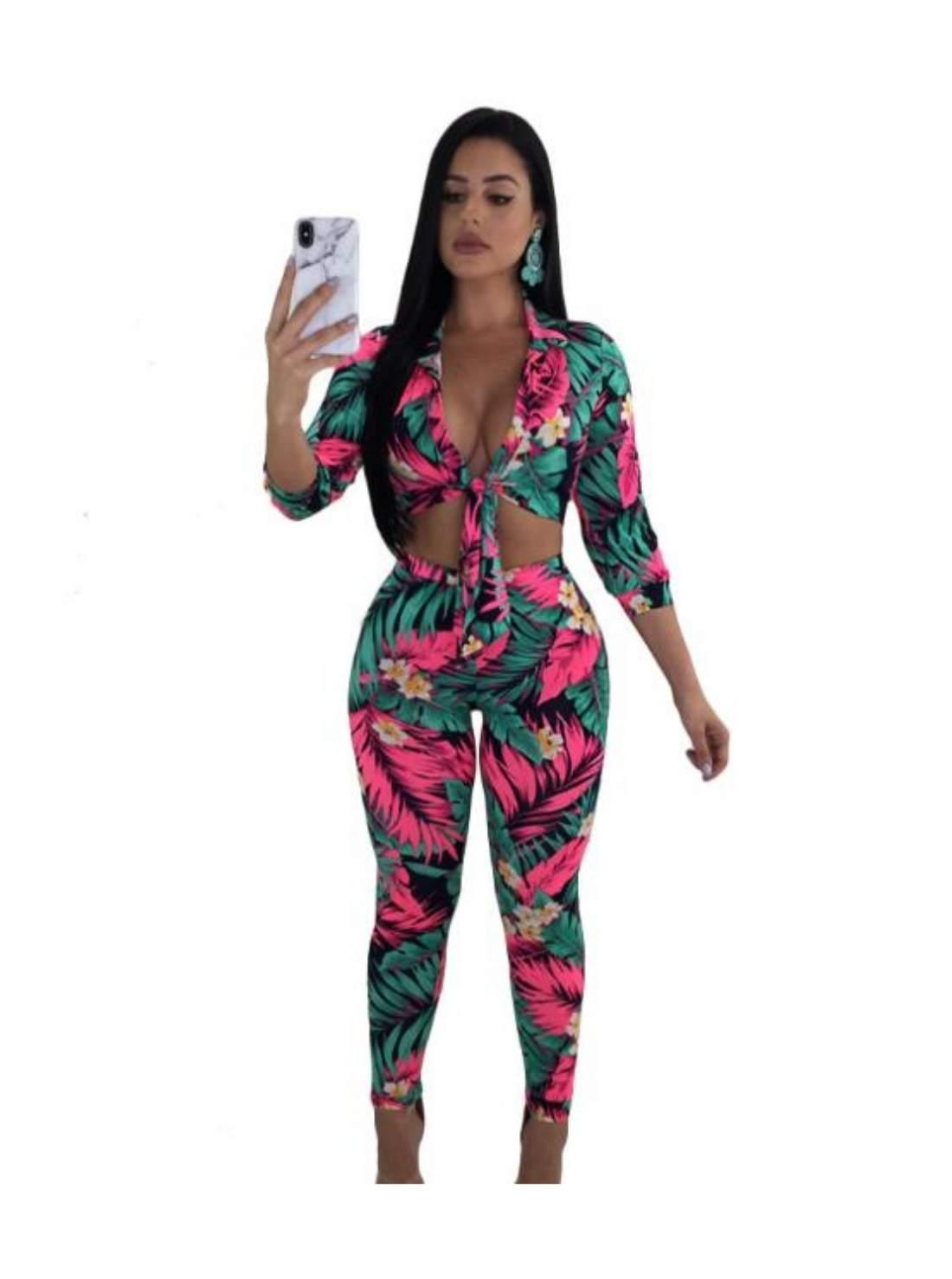 Trendy Print Summer Women Clothing