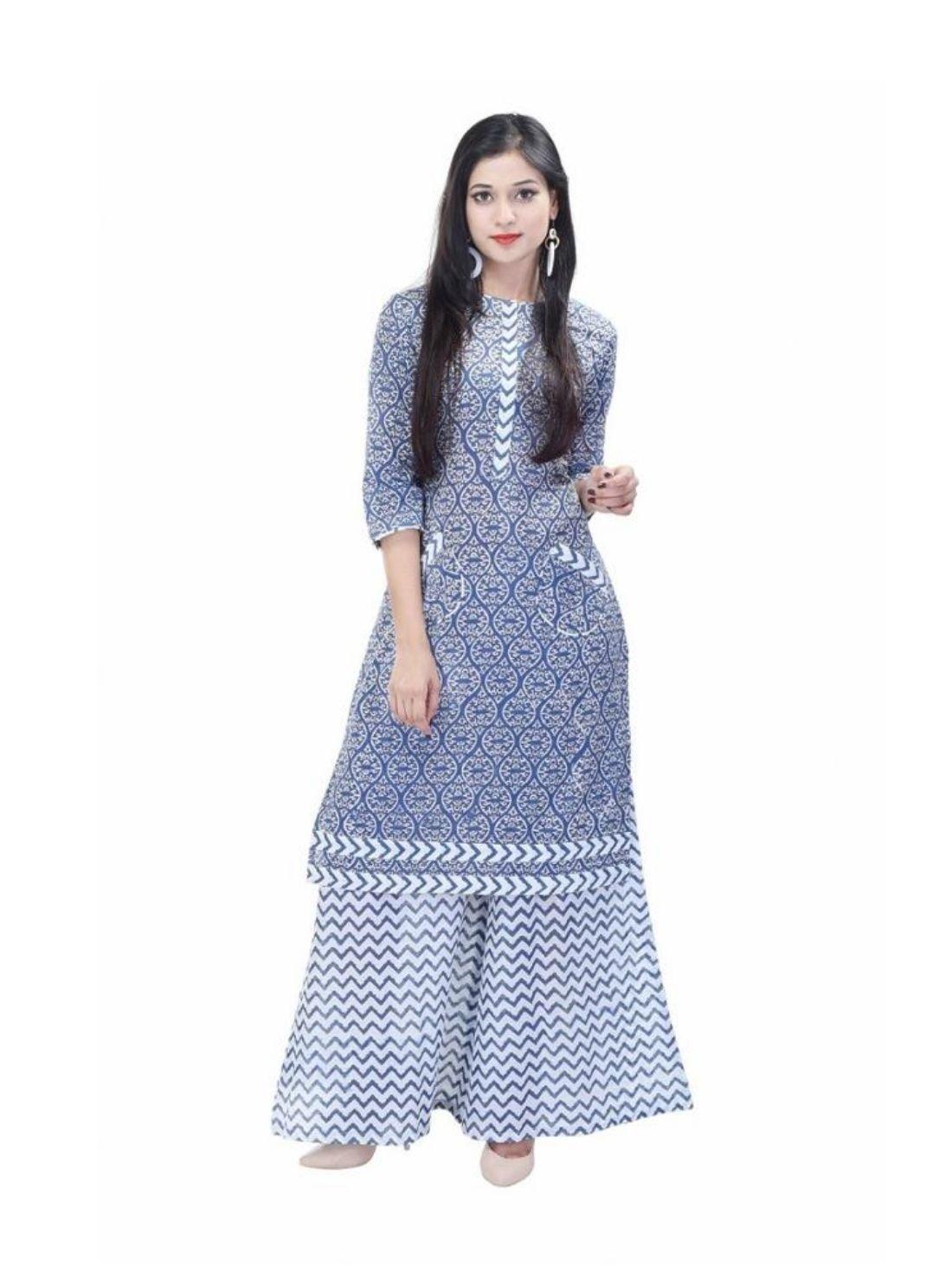 Dress Set Ethnic Casual Wear Indian