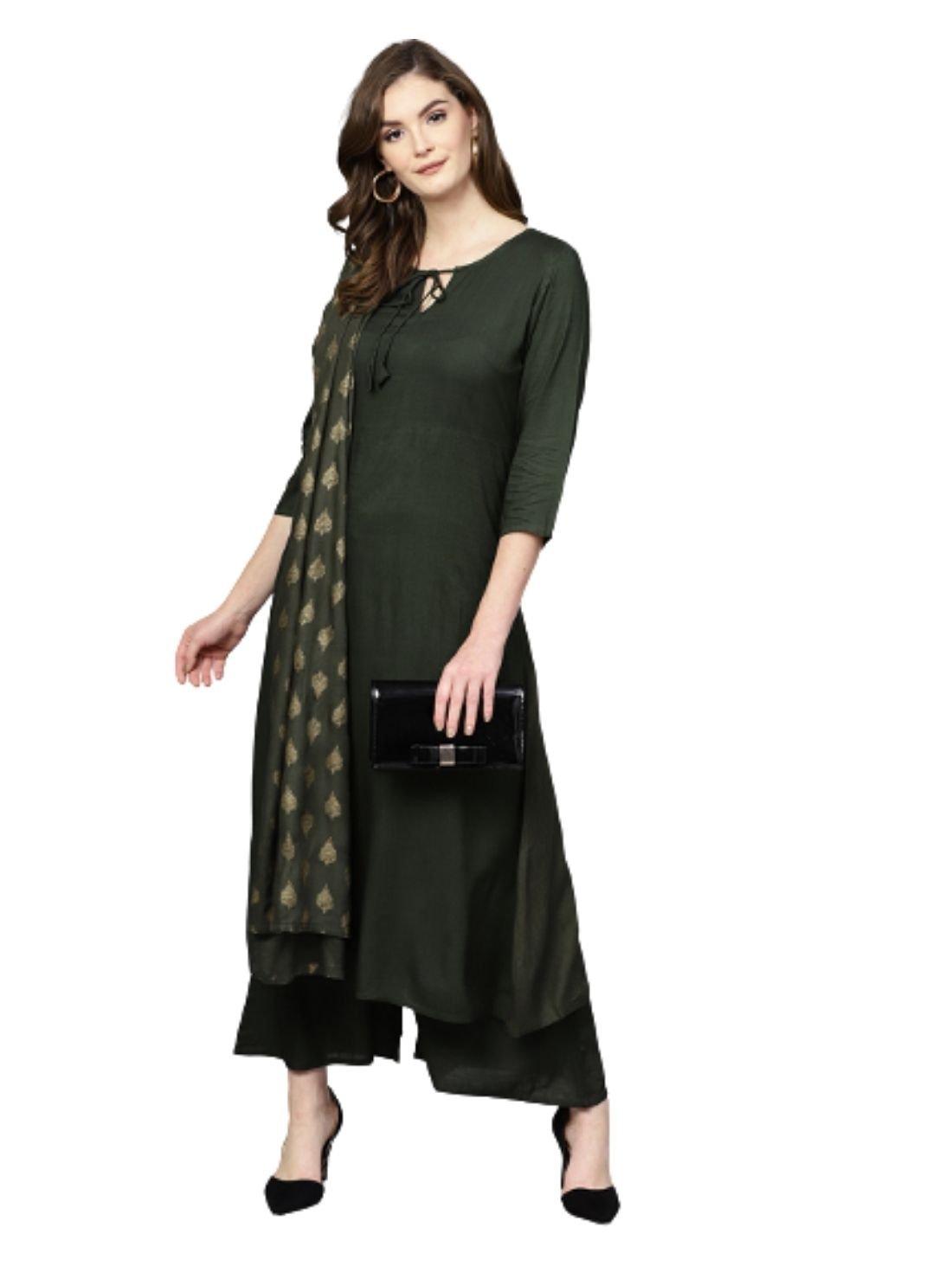 Women Ethnic Wear Long Kurta