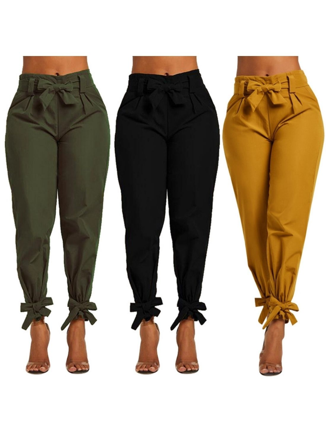 Lady bowknot Trousers