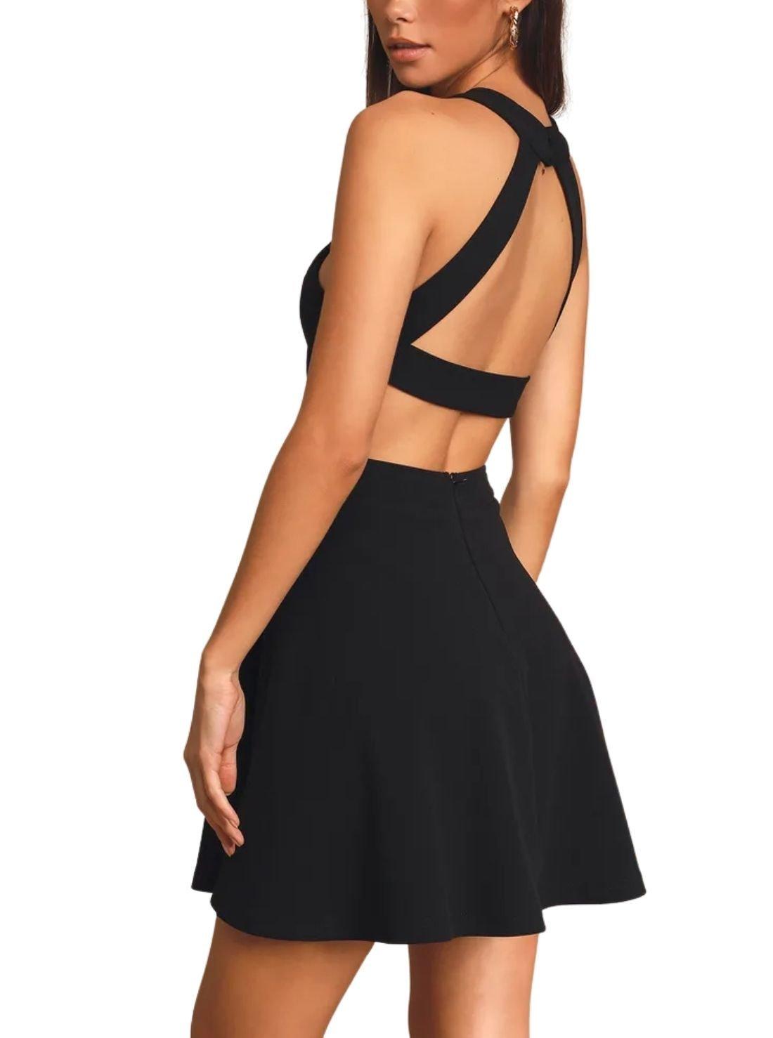 Wholesale Backless Skater Dresses