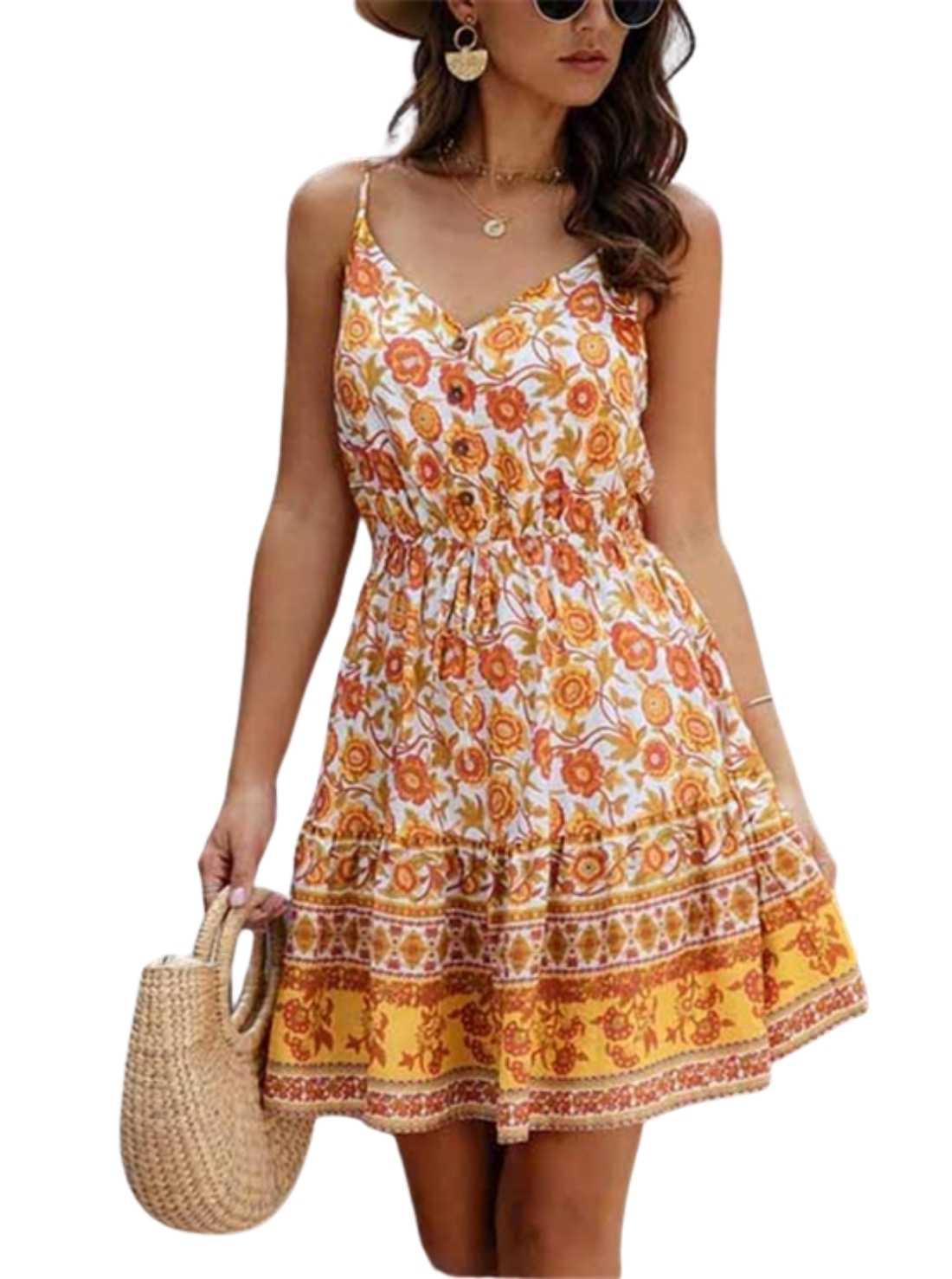 Wholesale Cotton Summer Dress