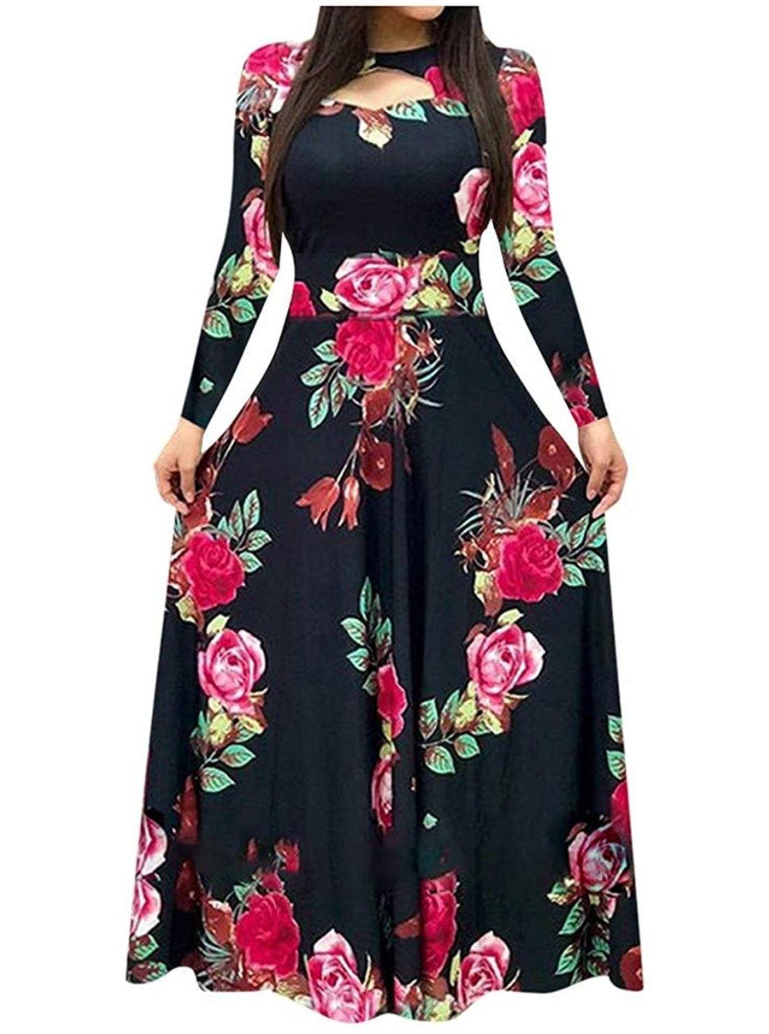 Wholesale Floral Casual Dresses