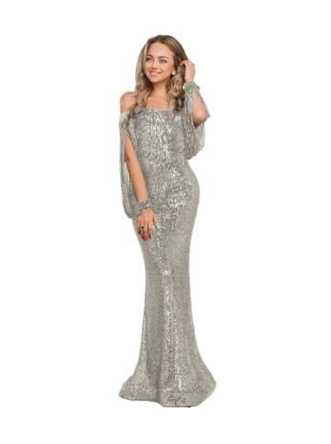 Wholesale Lace Evening Gown