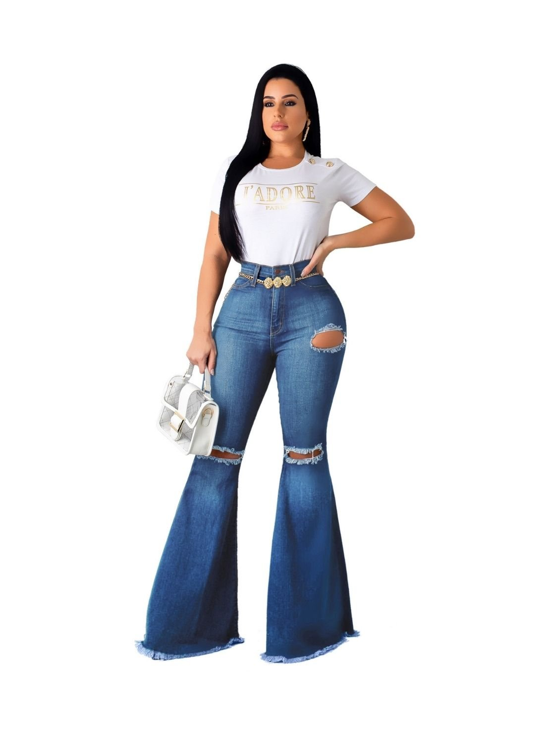 Wholesale Ladies Flare Pants