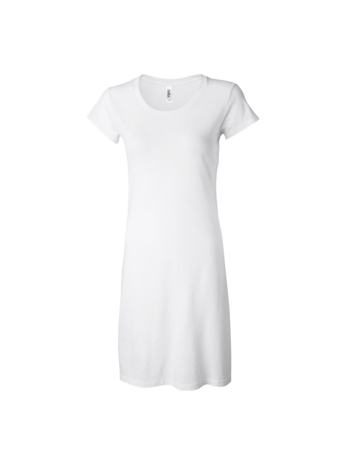 Wholesale Ladies Pain T shirt Dresses