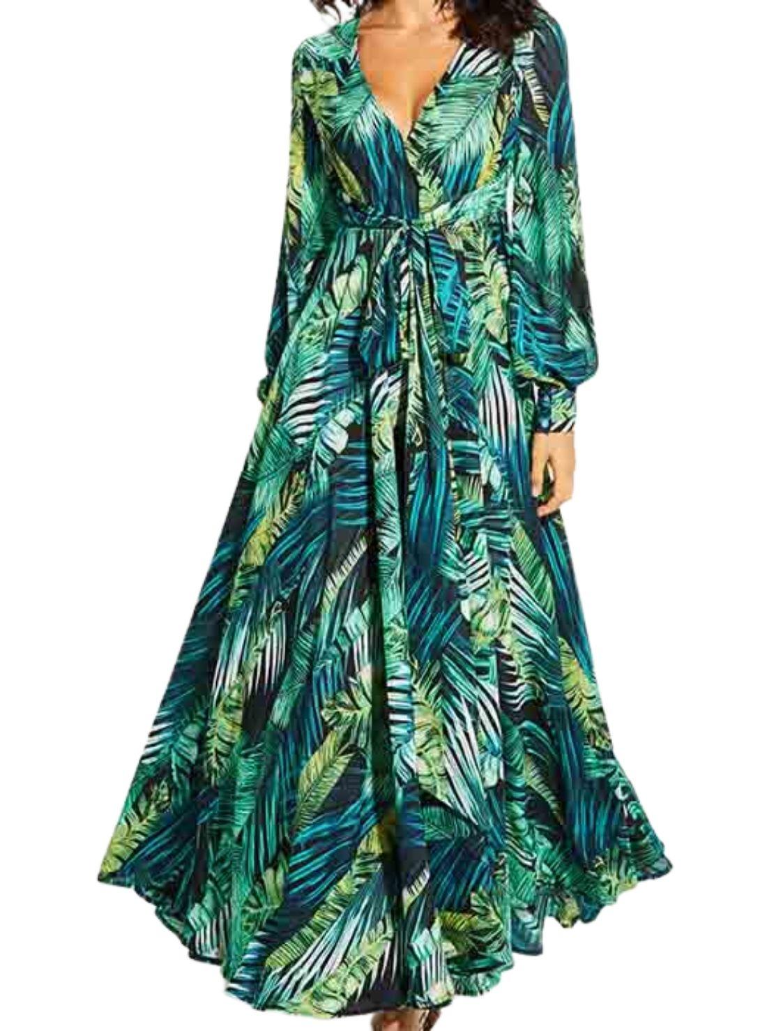 Wholesale Maxi Dress Wrap Dresses