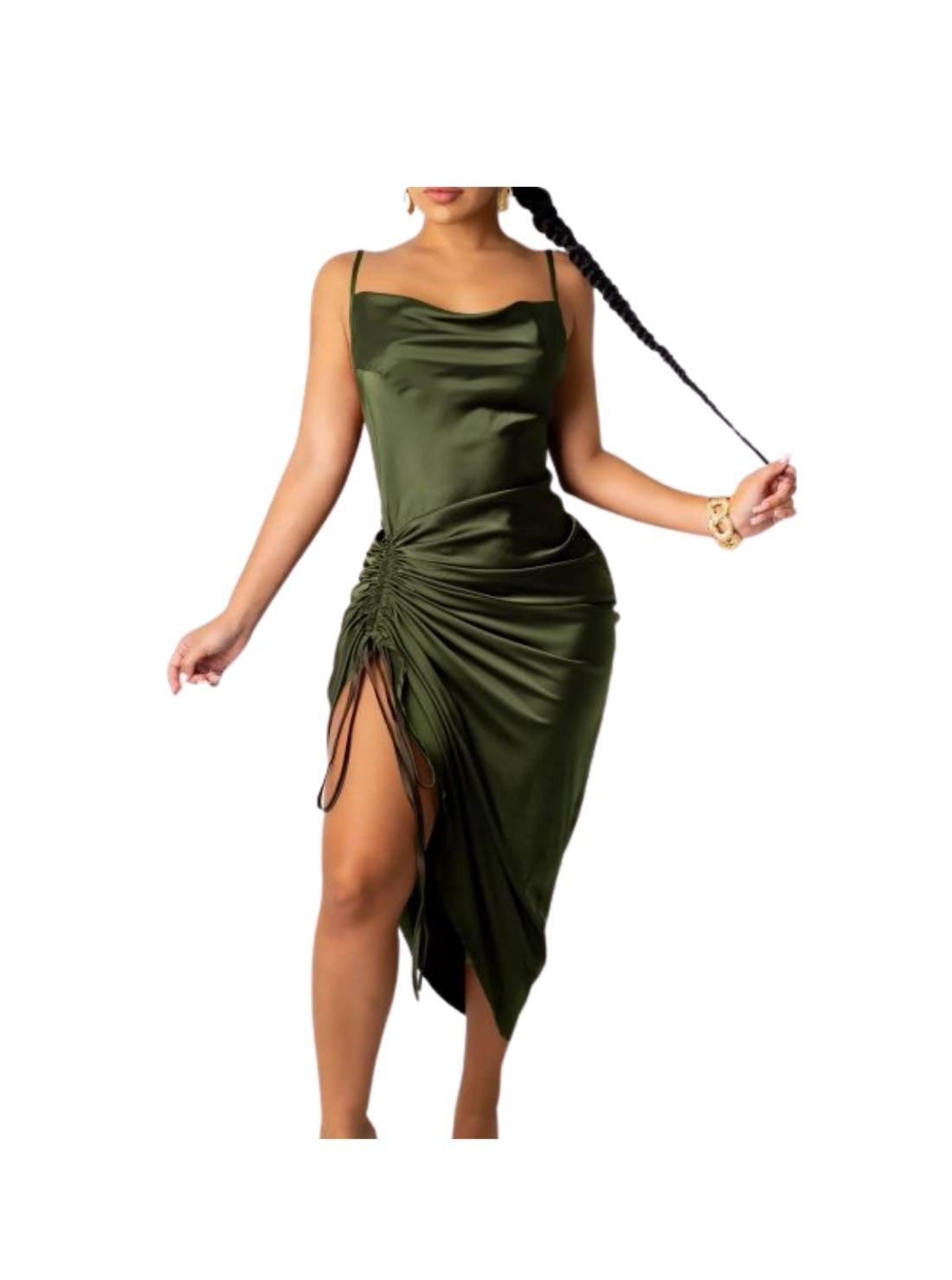 Wholesale Modest Long Silk Slip Dresses (2)
