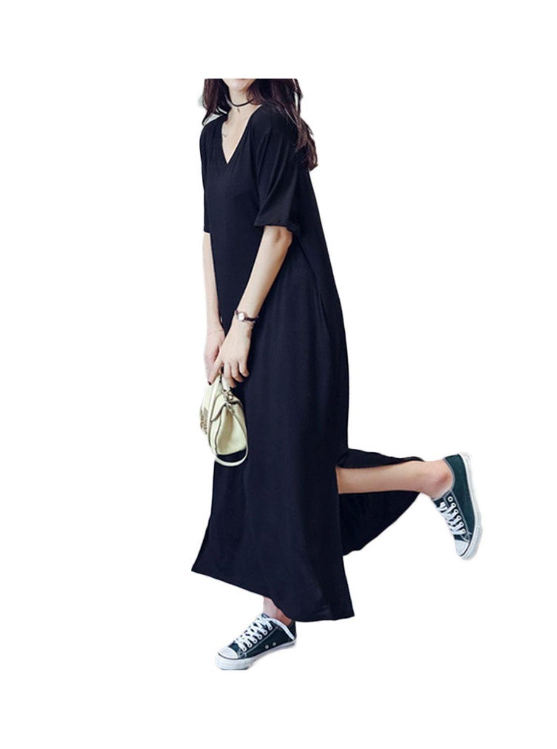 Wholesale Pale Blue Linen Dress