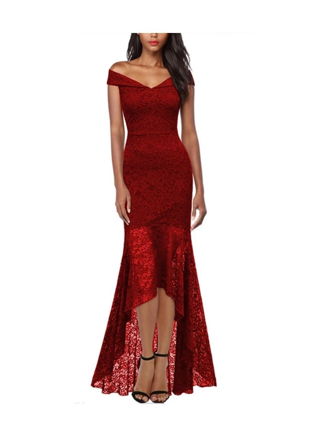 Wholesale Party Red Evening Dresses