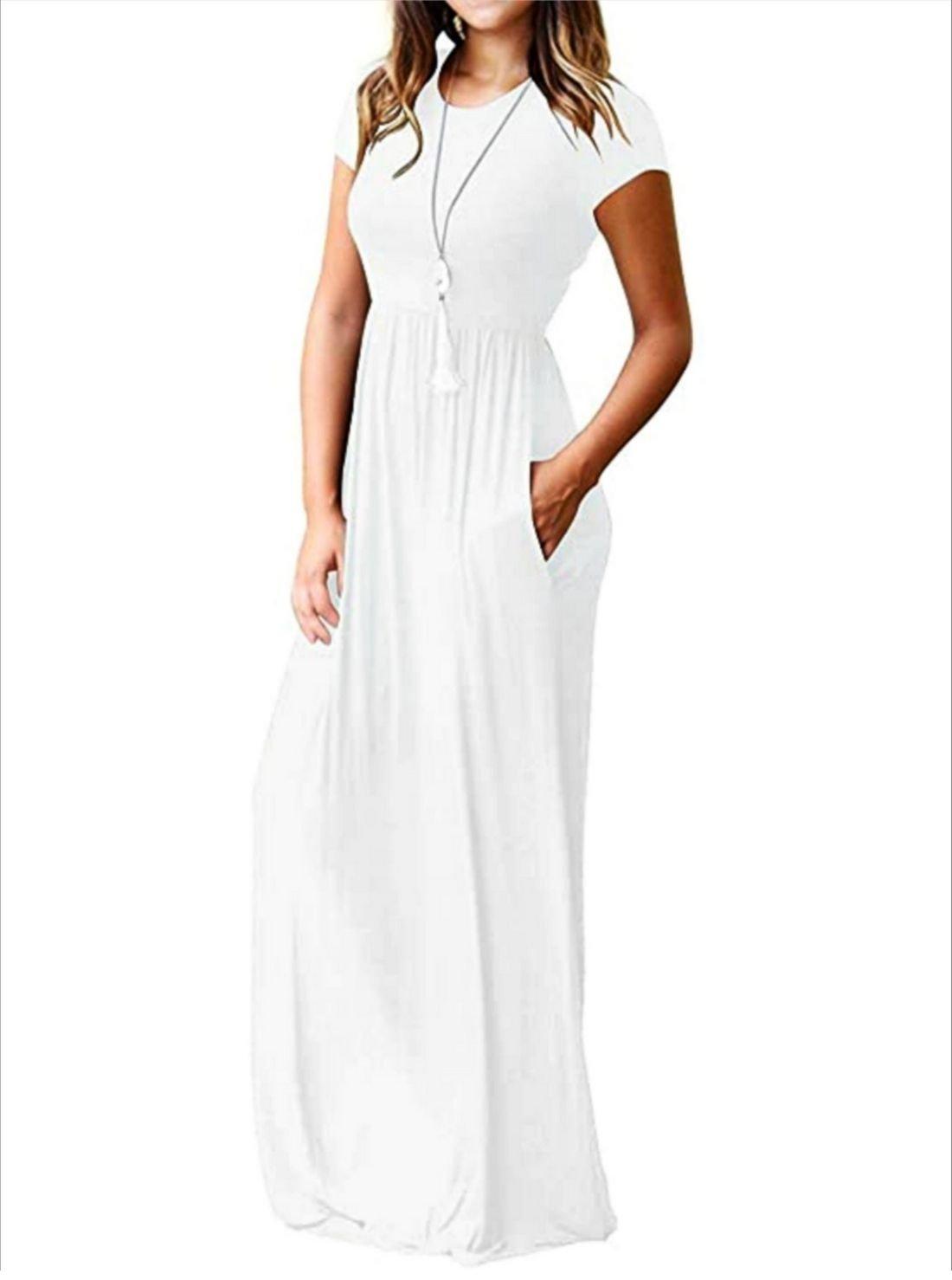 Wholesale Plain Casual Dresses