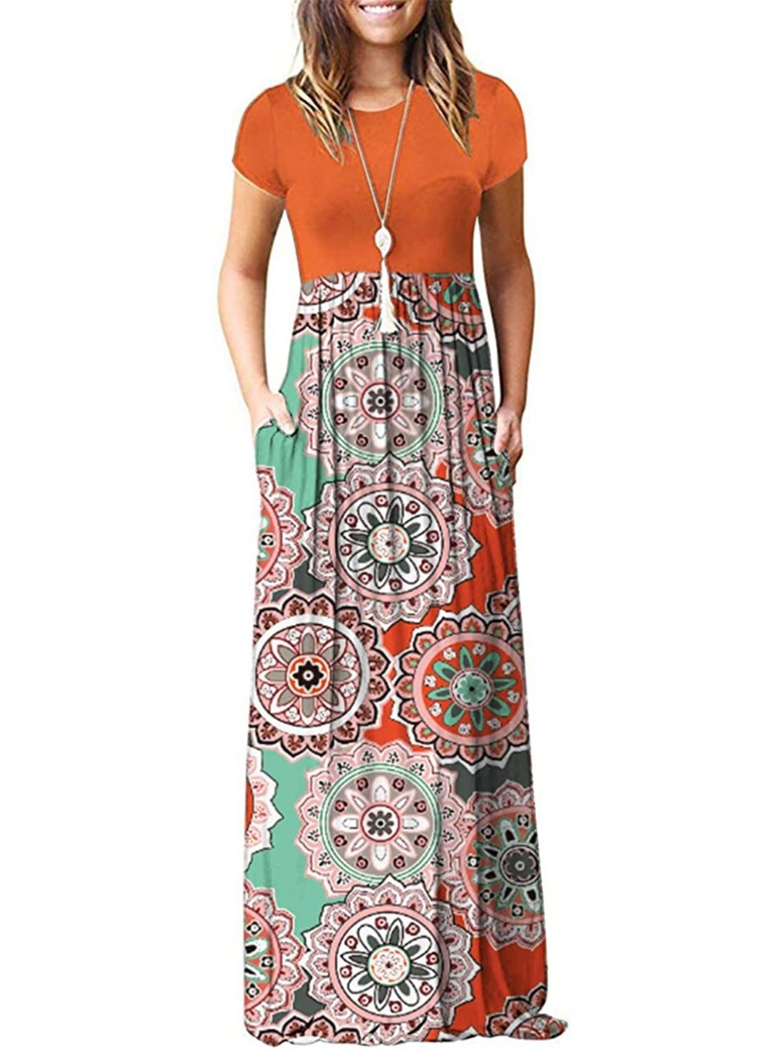 Wholesale Printed Casual Dresses