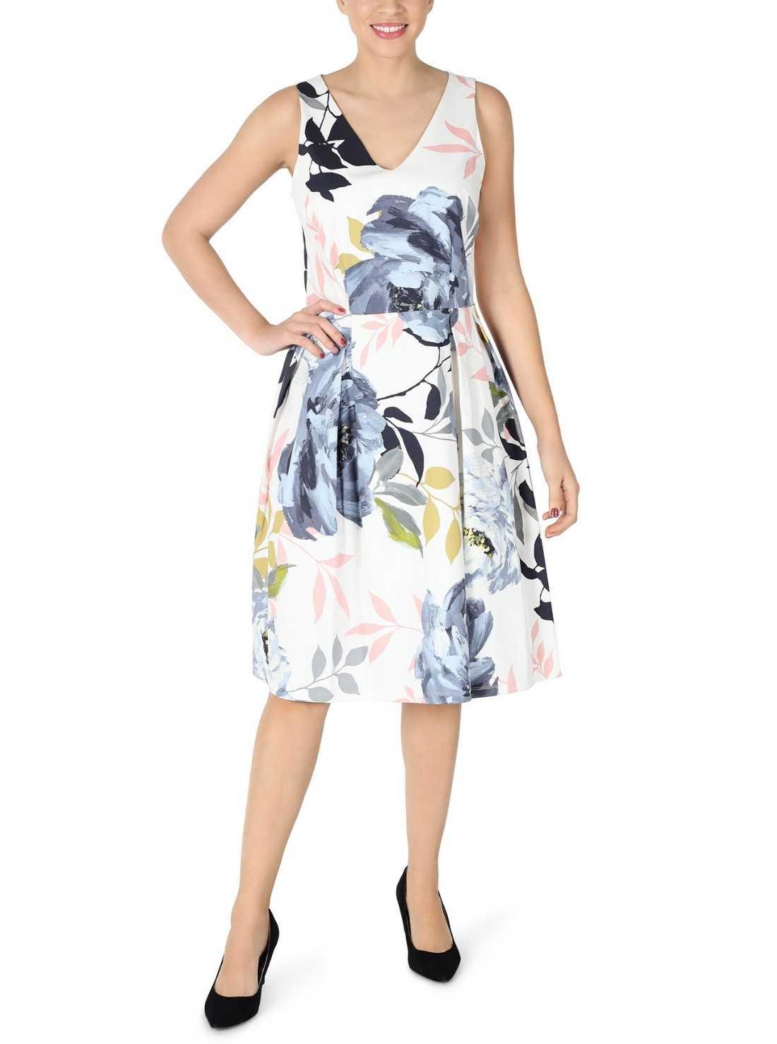 Wholesale Printed Sleeveless Cotton Dress
