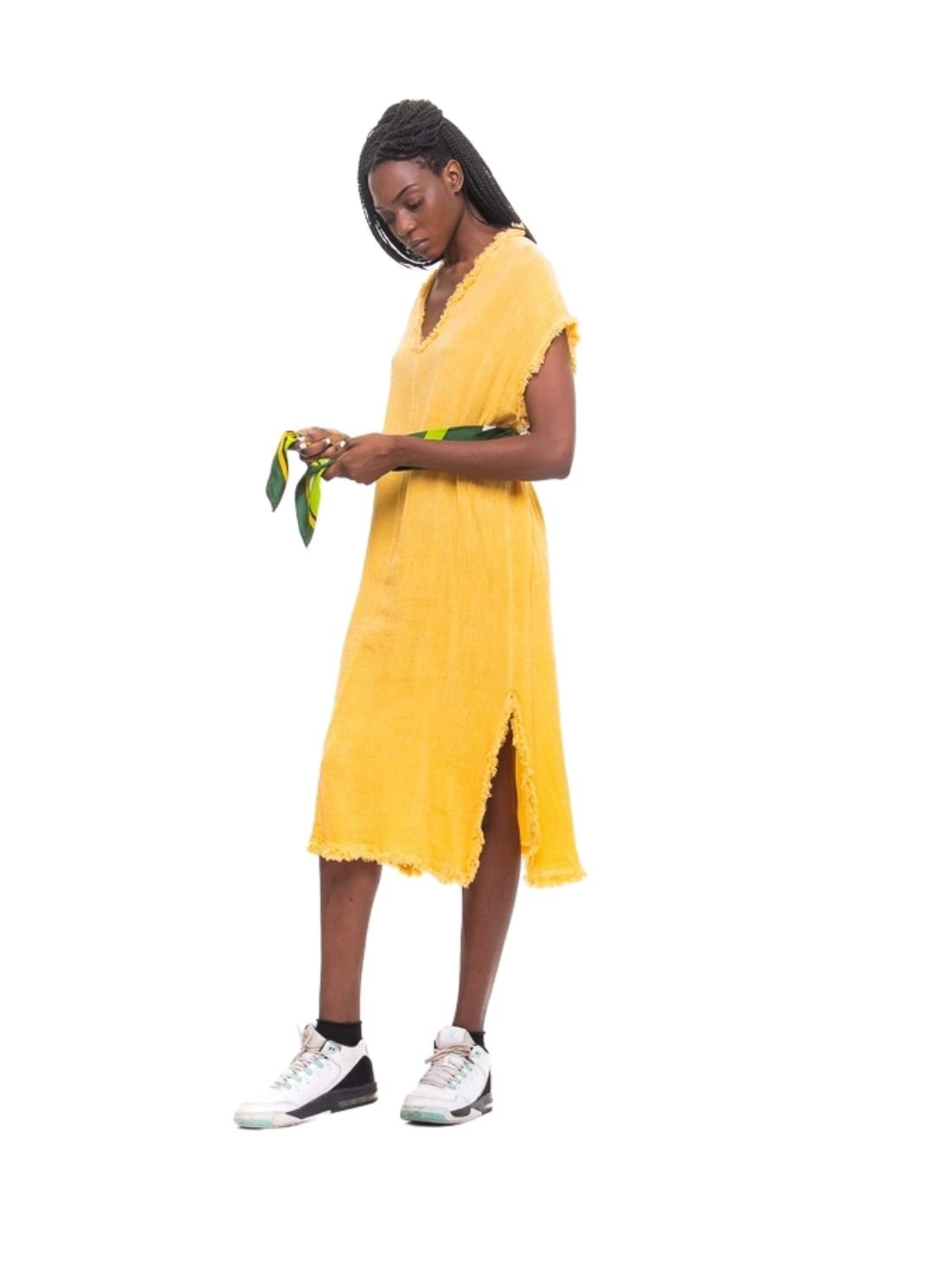 Wholesale Summer Linen Long Dress