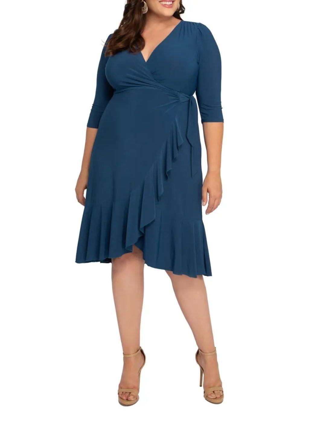Wholesale Whimsy Wrap Dress