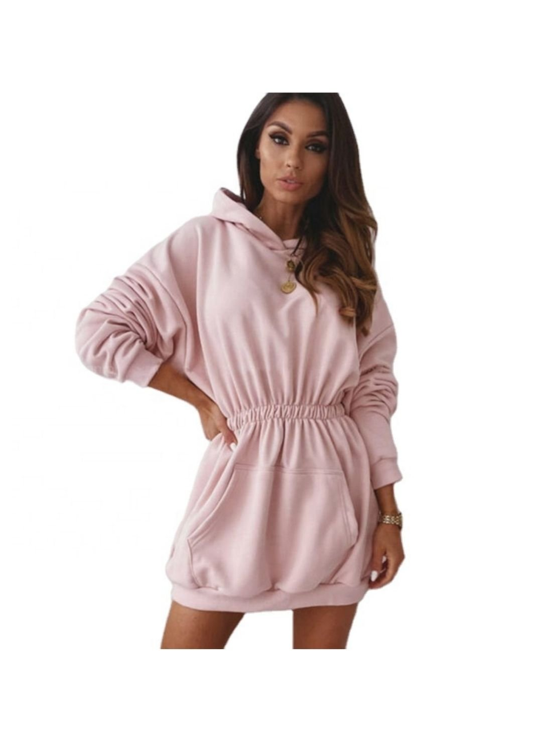 Wholesale Winter Casual Hoodie Dress