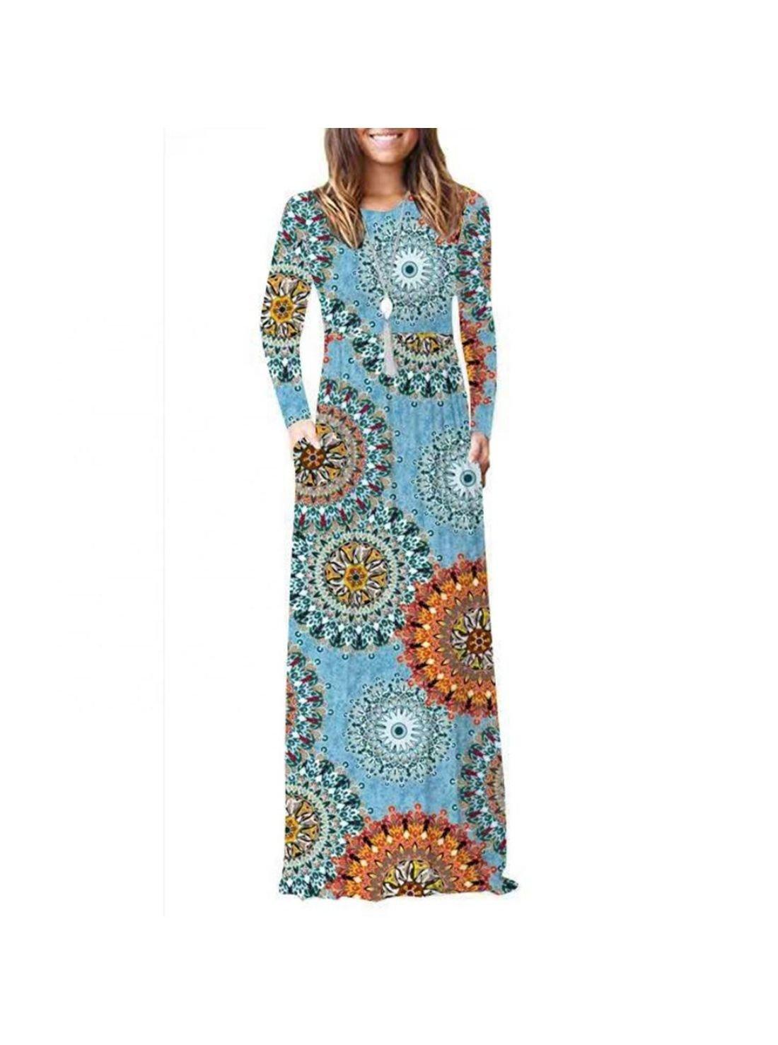 Wholesale Winter Long Beach Dress