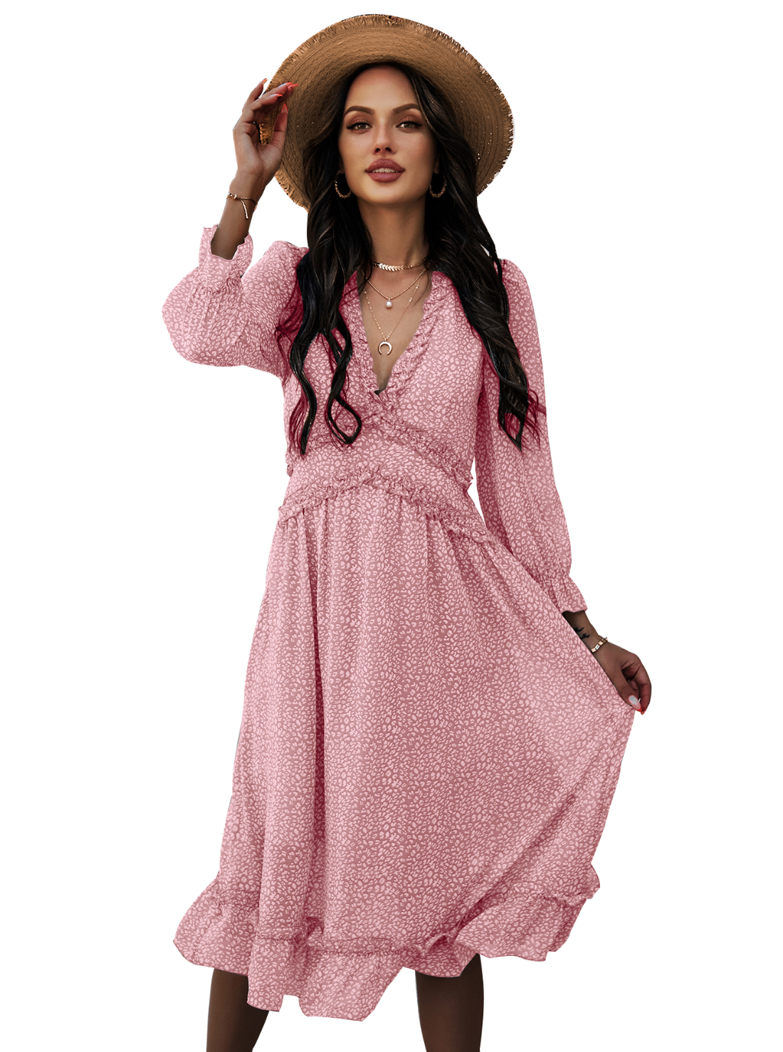 Wholesale Women Summer Midi Dress