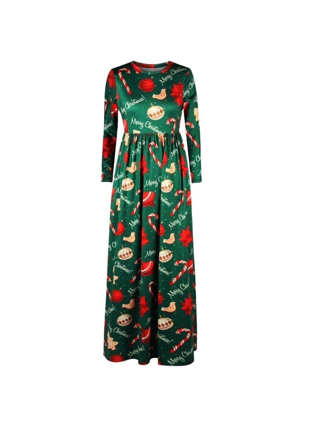 Wholesale Women's Christmas Ornaments Dress