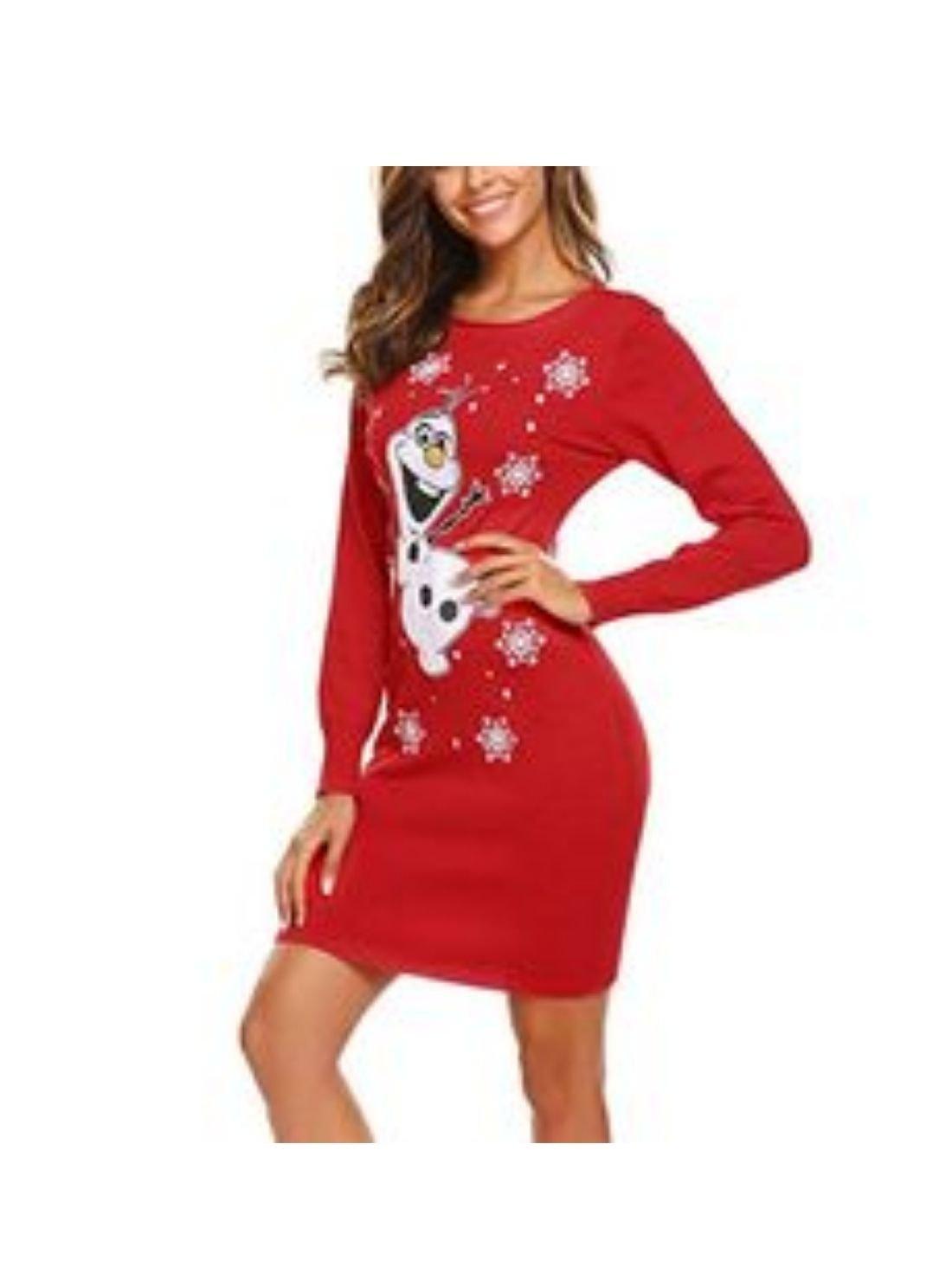 Wholesale Women's Cute Christmas Dress