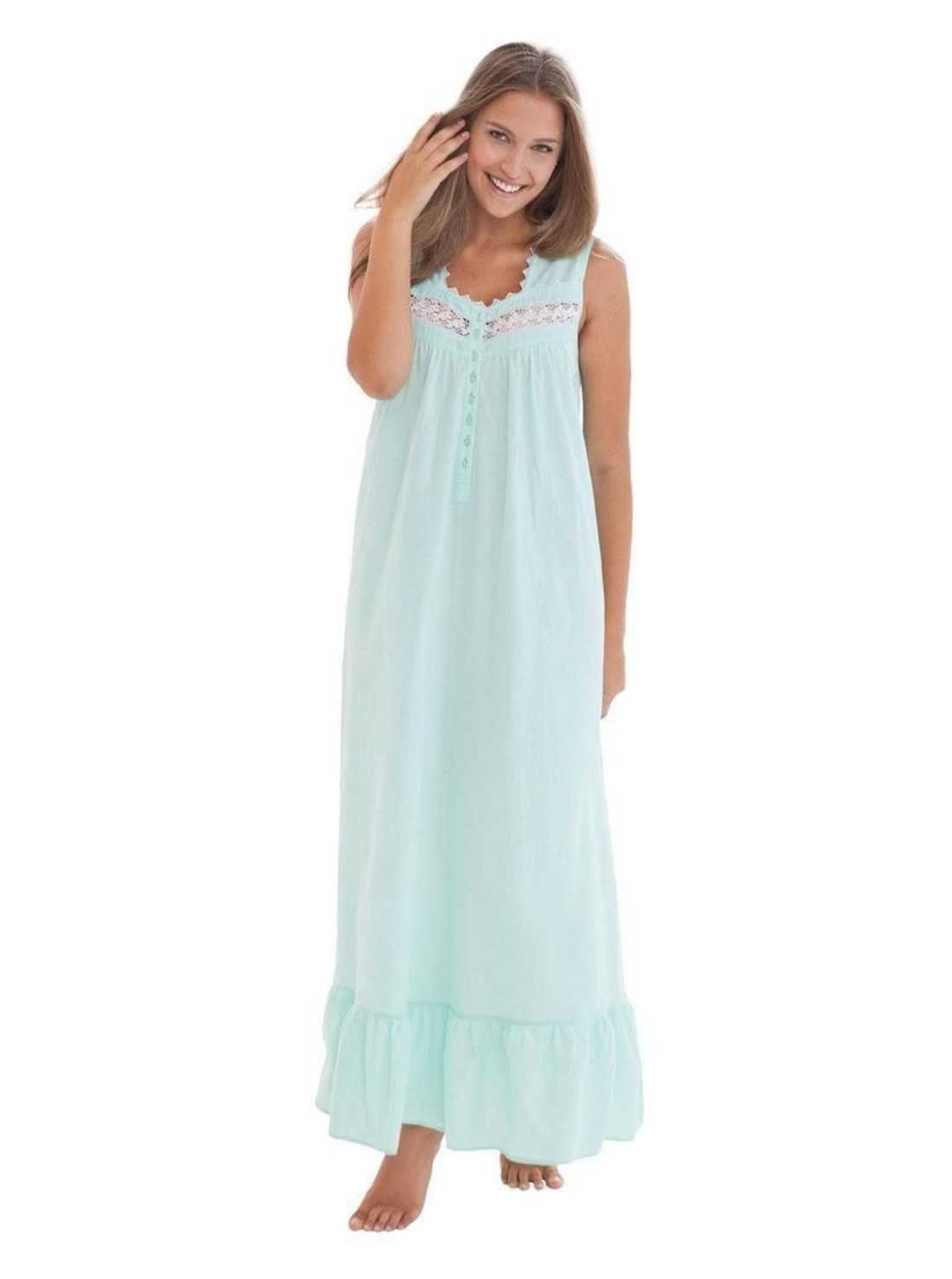 Woven Cotton Night Gown