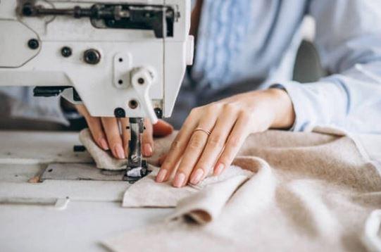 Garment sewing