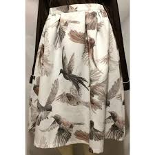 Ladies Skirt With Printed Lable